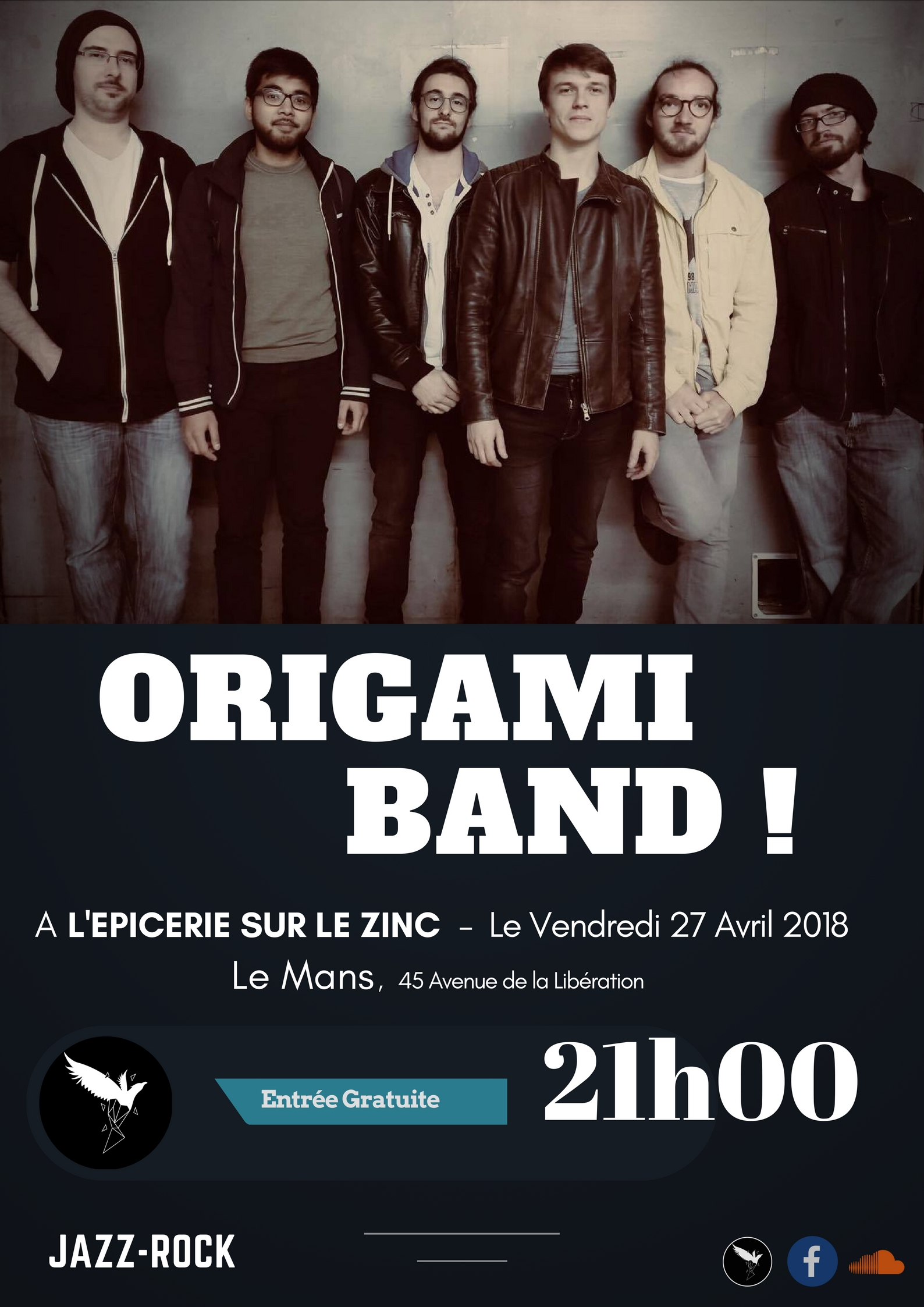 Origami le mans ep