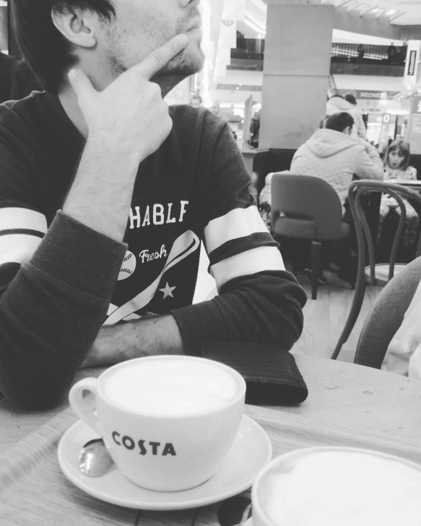 Best time is coffee time myman withbae atak coffee coffeetimehellip