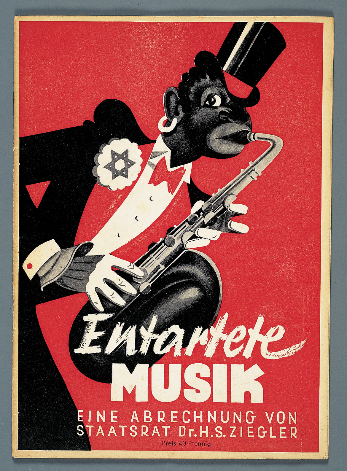 Poster Kunst Degenerate Music And Nazi Germany: A Love/hate