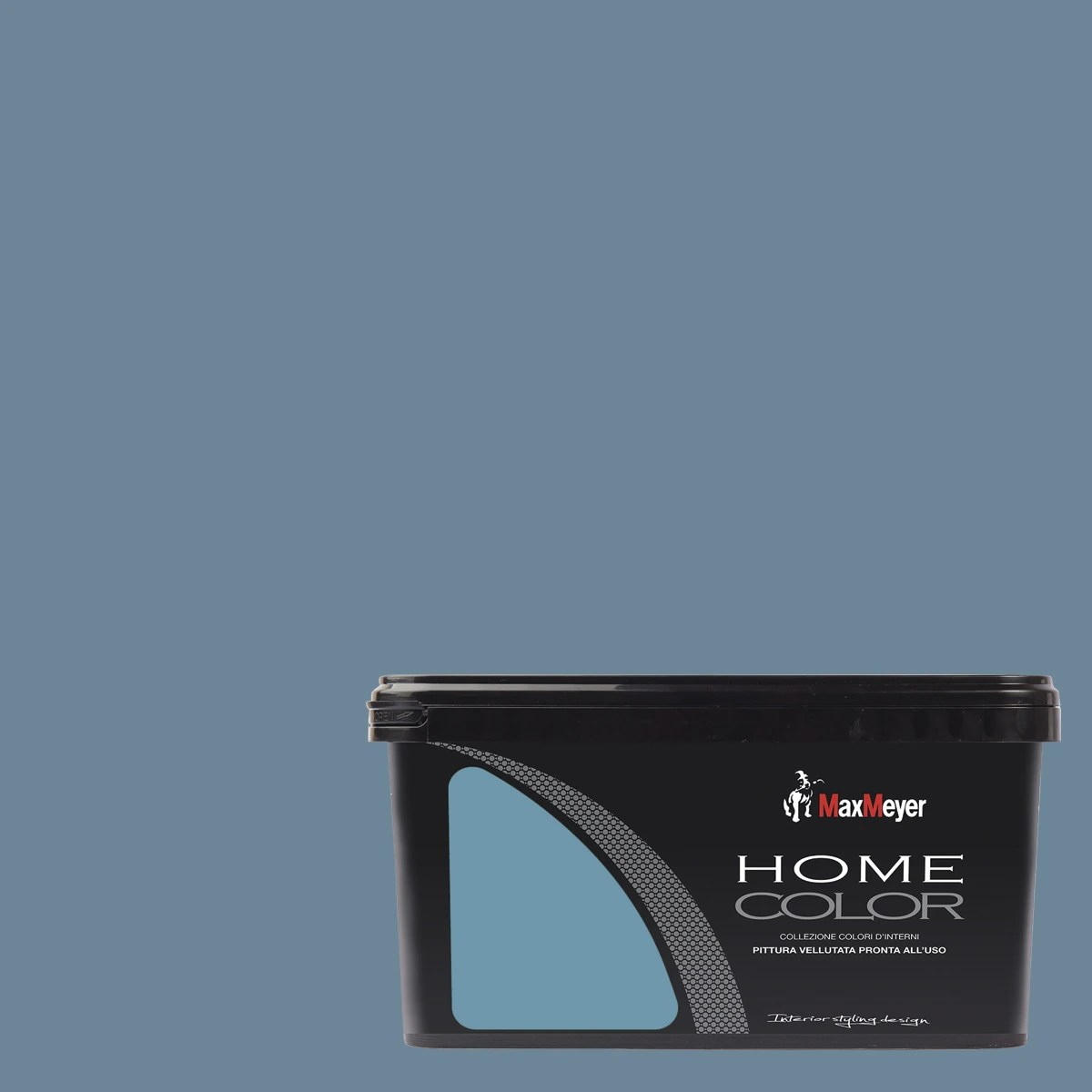 Pittura Lavabile Blu Idropittura Lavabile Home Color Navy 2 5 L Max Meyer