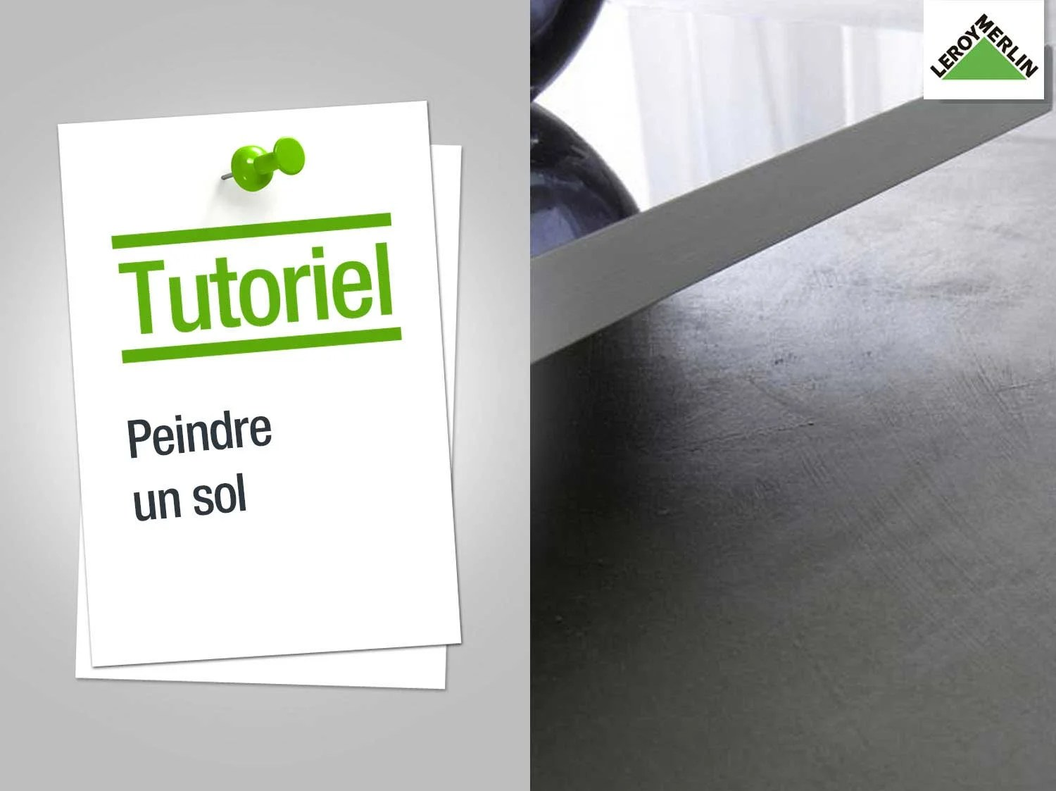 Colorant Joint Carrelage Leroy Merlin Comment Peindre Un Sol Leroy Merlin