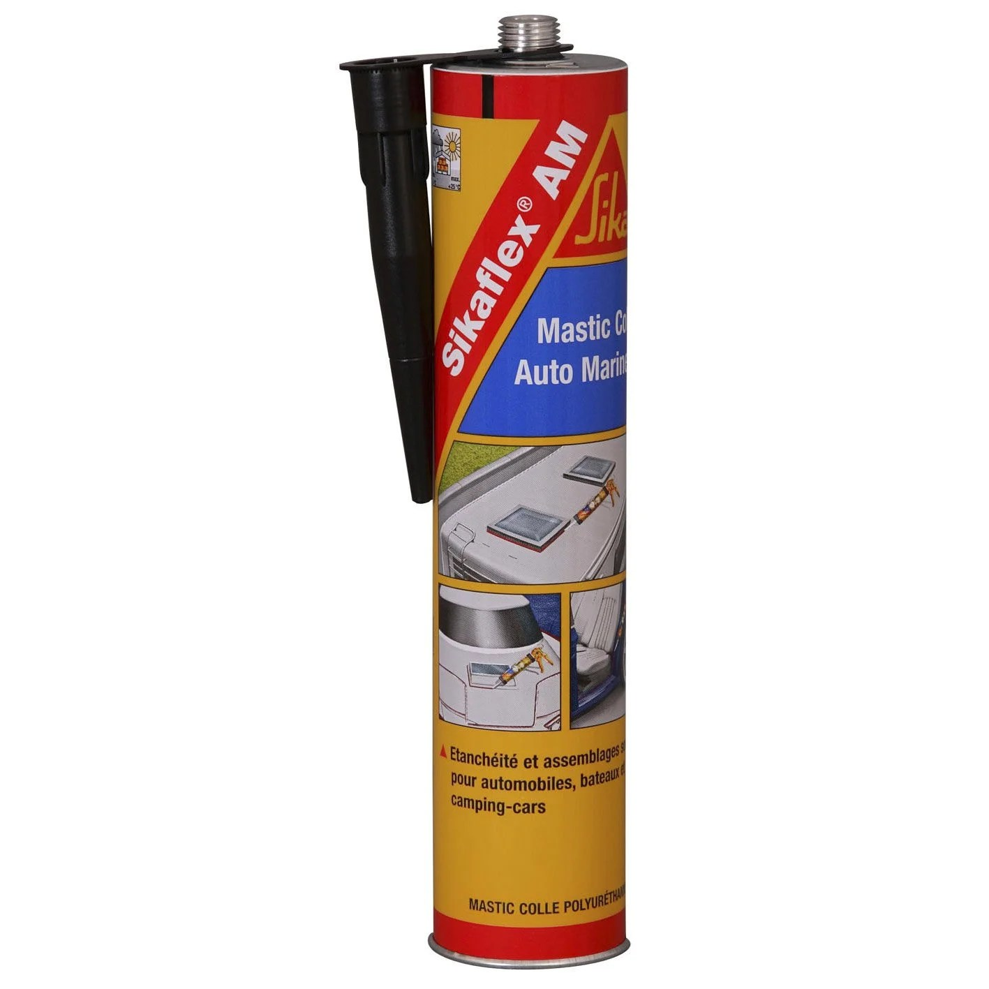 Mastic Colle Exterieur Mastic Colle Sika Sikaflex Am 300 Ml Noir Leroy Merlin