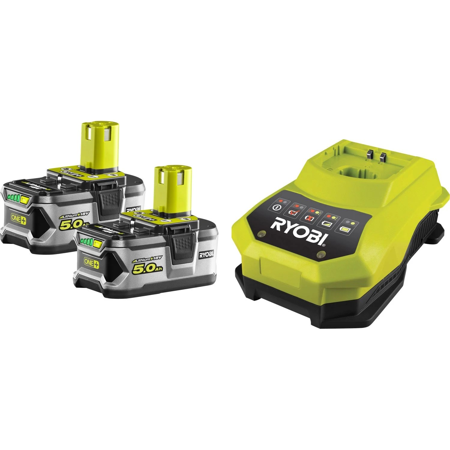 Ponceuse Excentrique Bosch Leroy Merlin Amazing Coffret Chargeur Batteries Ah Ryobi One Rbc With