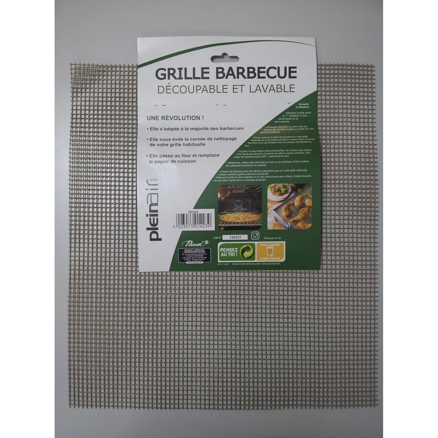 Protection Mur Cuisine Eclaboussure Grille Rectangle De Barbecue Leroy Merlin