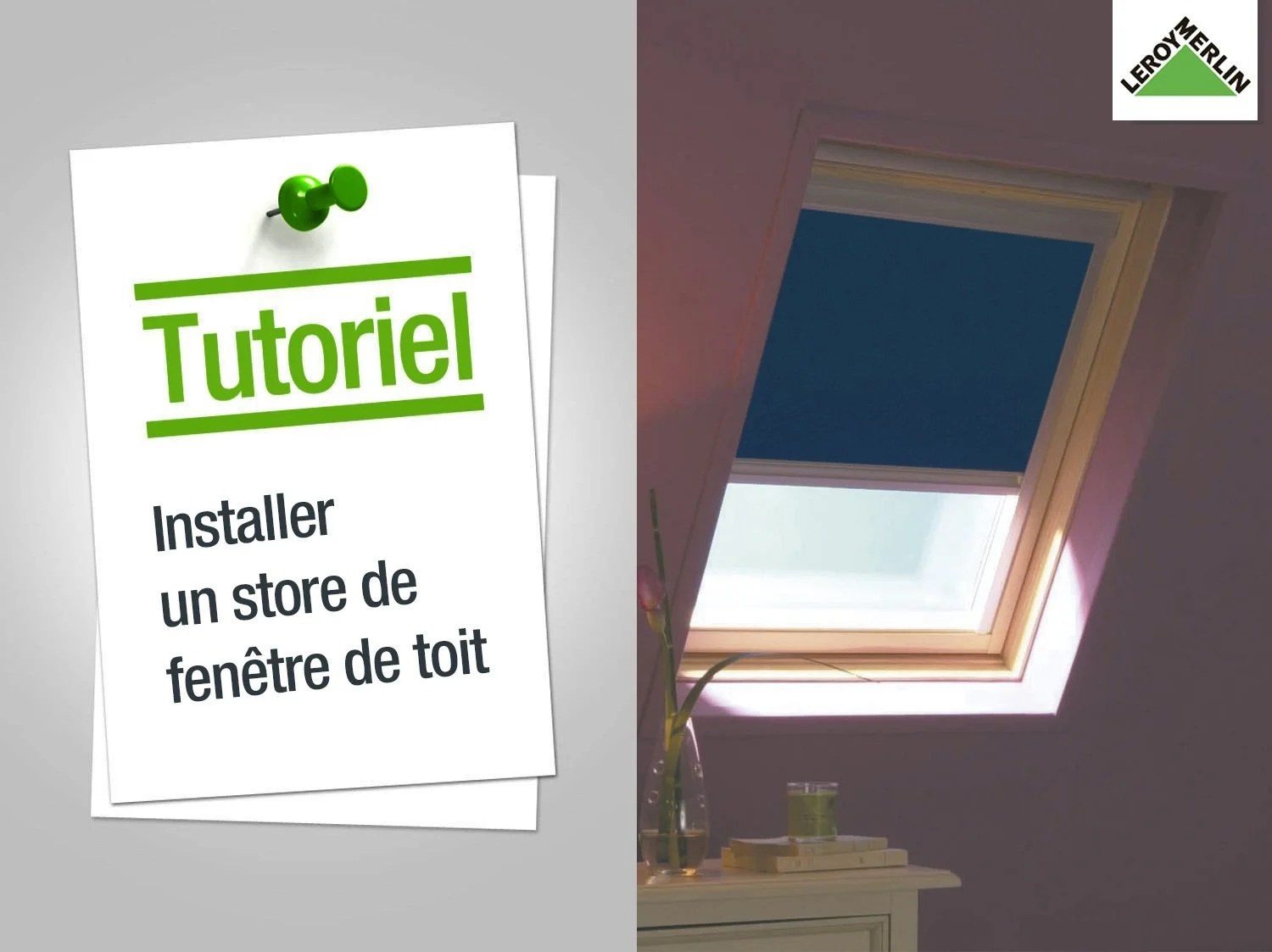 Remplacer Store Velux Comment Remonter Un Store Velux Bricolage