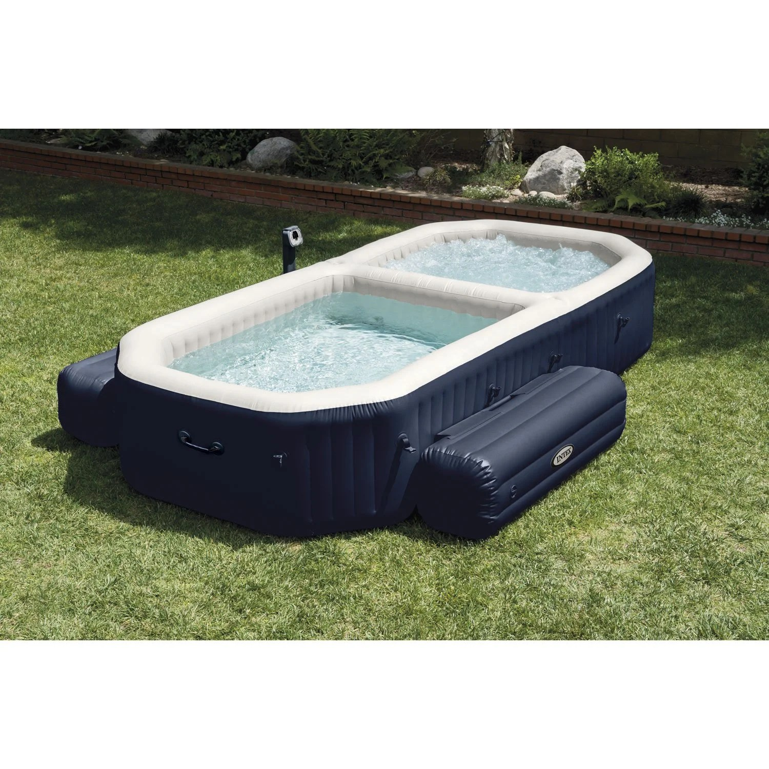 Piscine Spa Gonflable Piscine Gonflable Decathlon