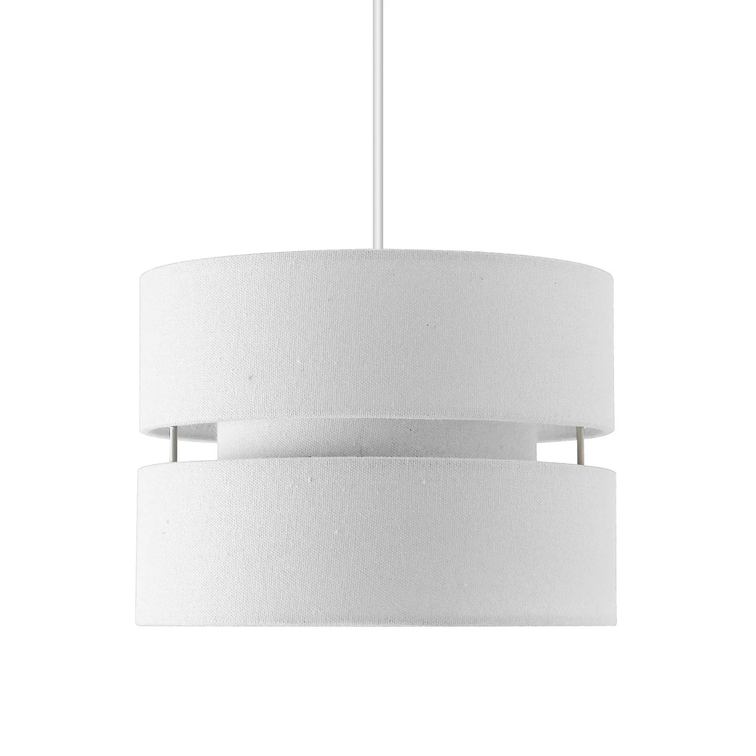 Suspension Lin Suspension Design Sheffield Lin Blanc 1 X 40 W Seynave