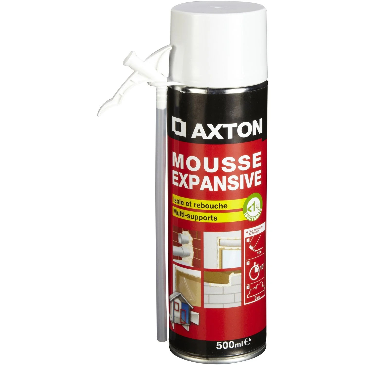 Spray Pintura Coche Leroy Merlin Mousse Expansive Axton L 65 X L 240 X Ep 65 Mm 500 Ml
