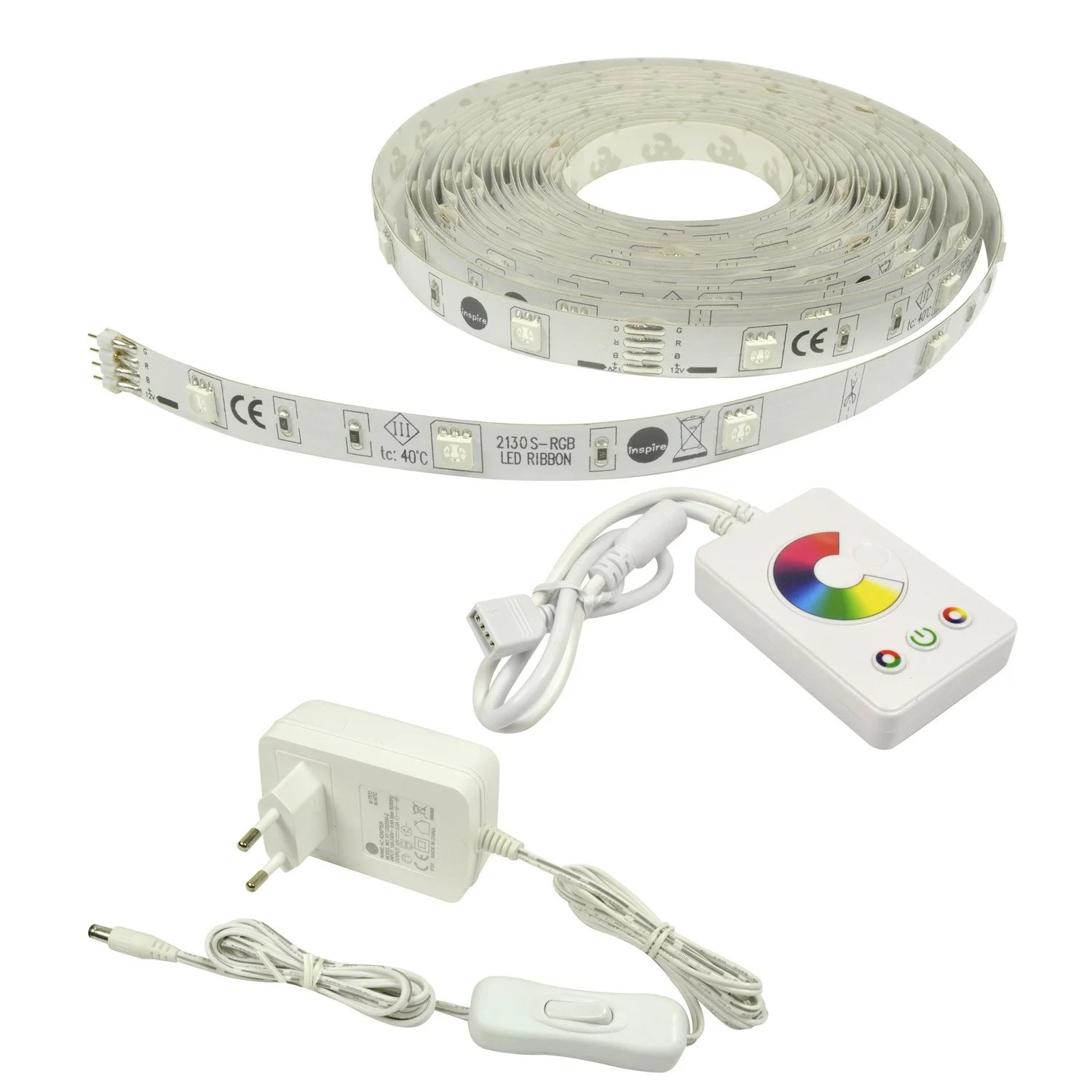 Ruban Led Leroy Merlin Kit Ruban Led Flexled 5m Led Intégrée Multicolore Leroy