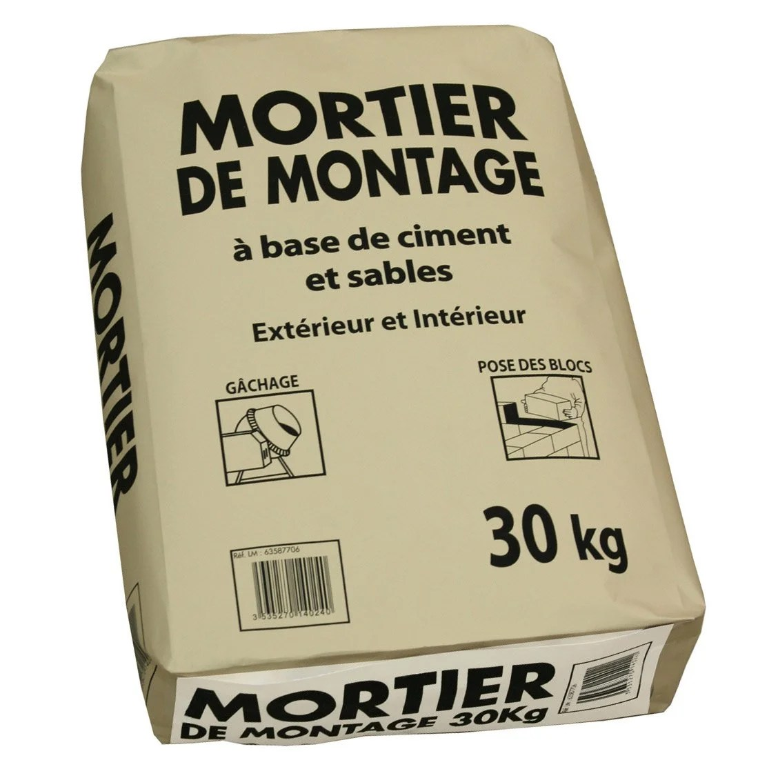 Sable Leroy Merlin Mortier 30 Kg | Leroy Merlin