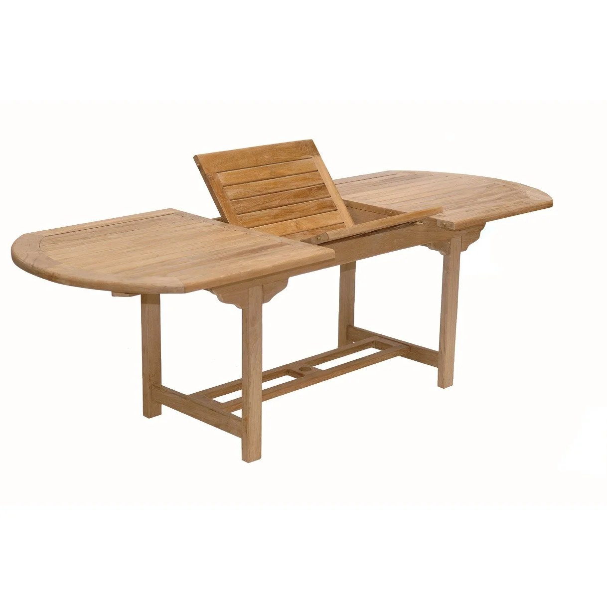 Table Fer Jardin Table De Jardin Azur Ovale Naturel 8 Personnes Leroy Merlin