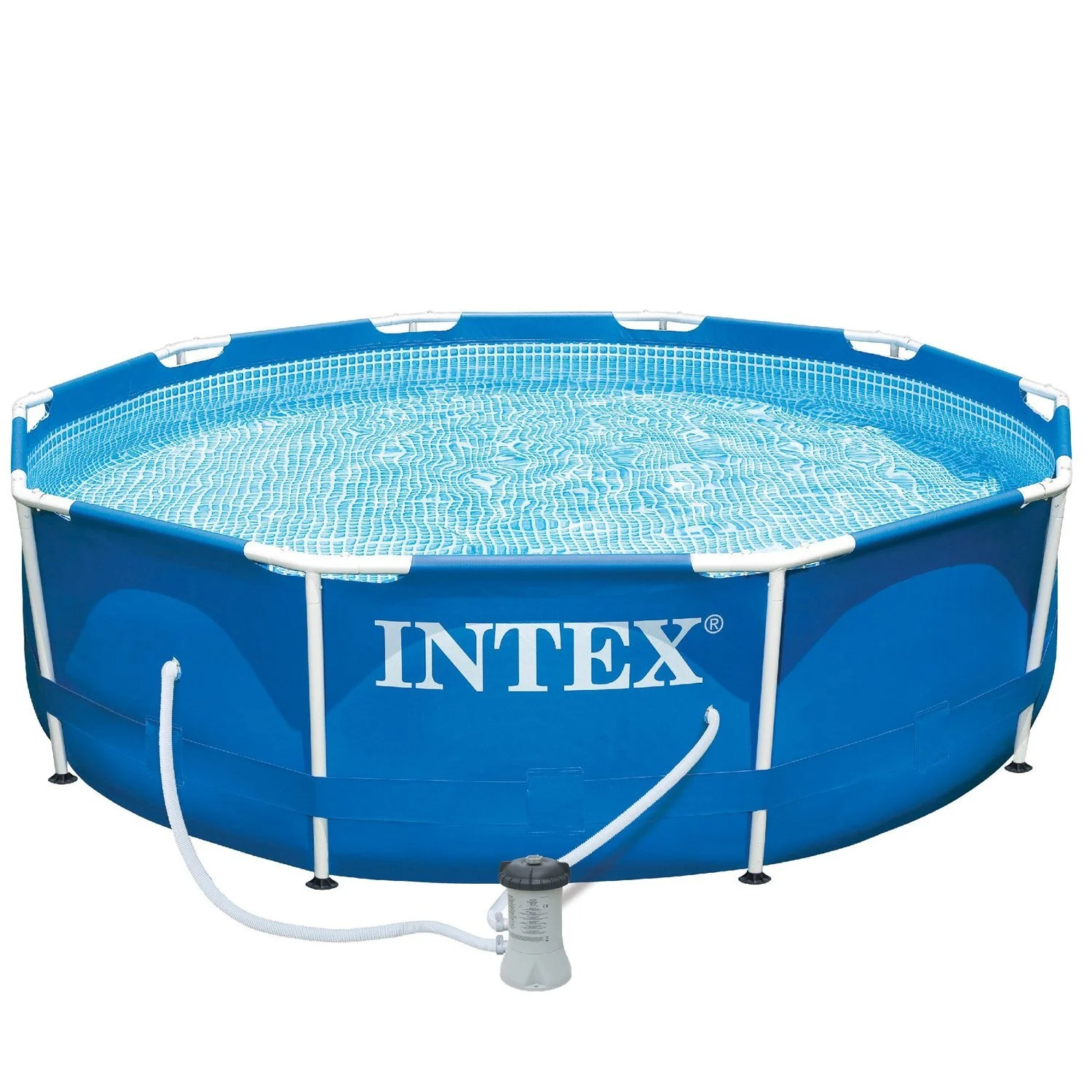 Leroy Merlin Piscine Hors Sol Intex Piscine Hors Sol Autoportante Tubulaire Metal Frame Intex