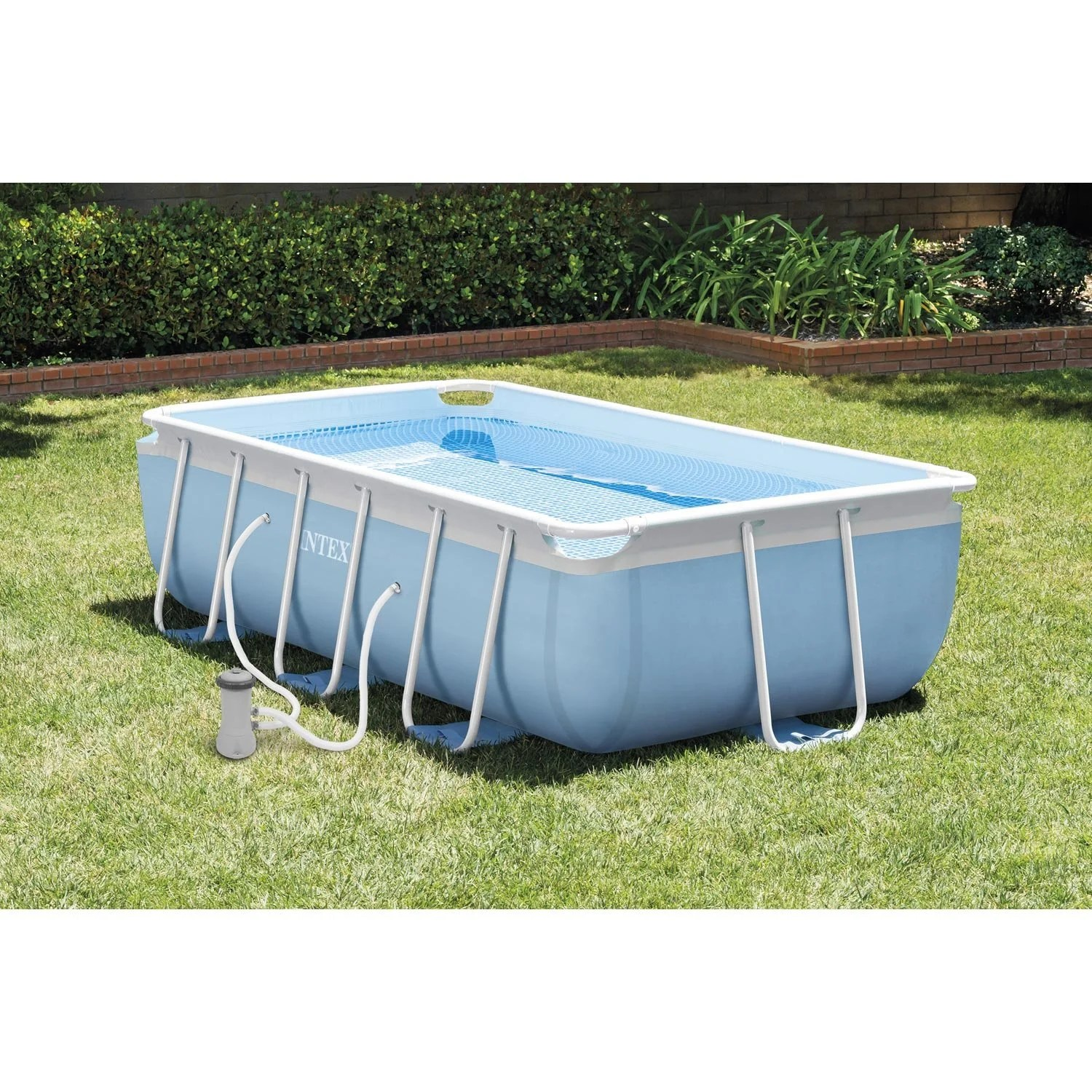 Dalle Terrasse Bricorama Piscine Hors Sol Autoportante Tubulaire Intex L 3 4 X L 2