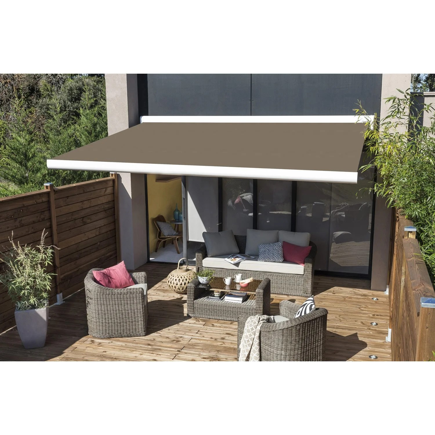 Store Terrasse Store Banne Manuel 4x3 Top Store Banne Manuel Fabrication