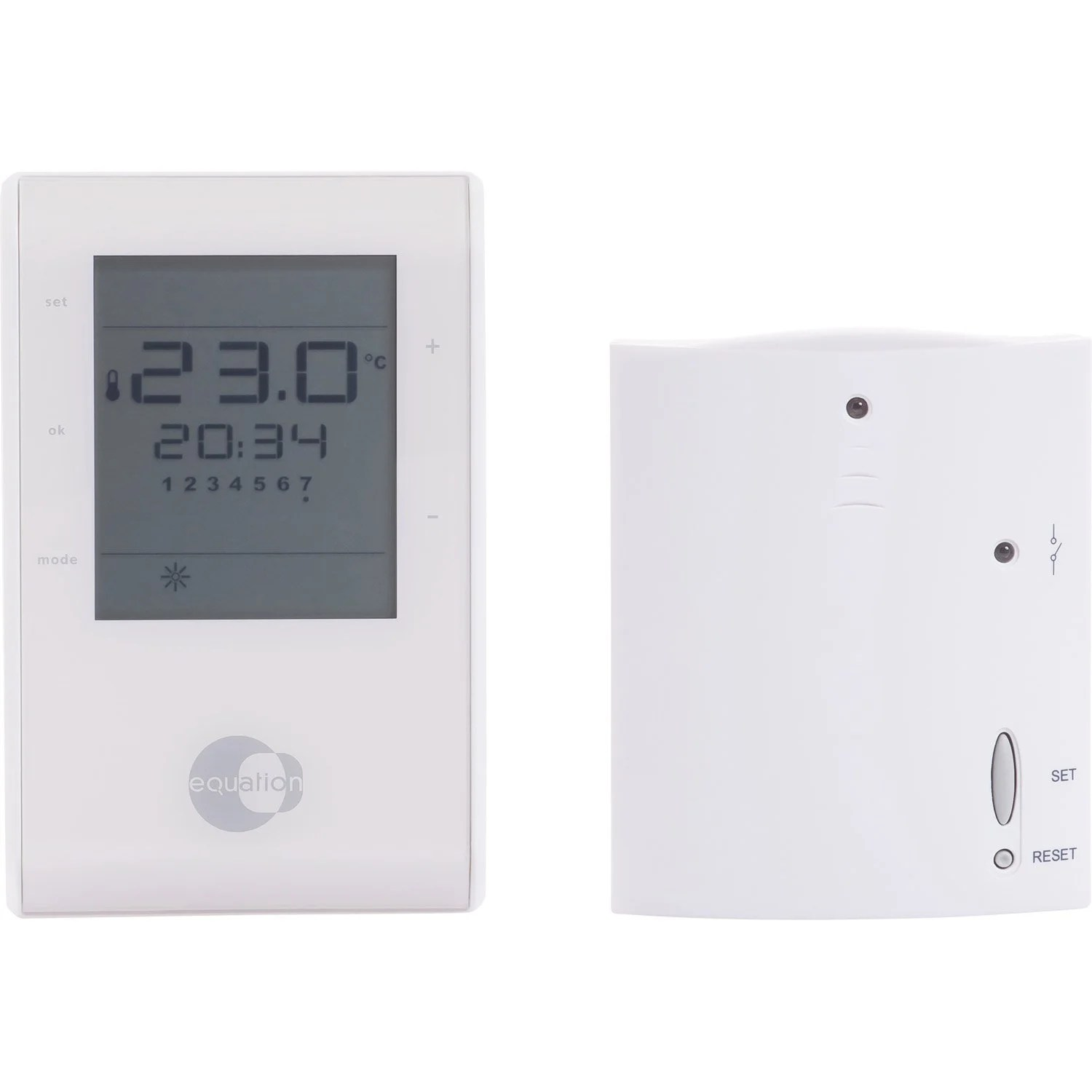 Thermostat Chaudiere Gaz Leroy Merlin Thermostat D 39ambiance Sans Fil Equation Confort Crono