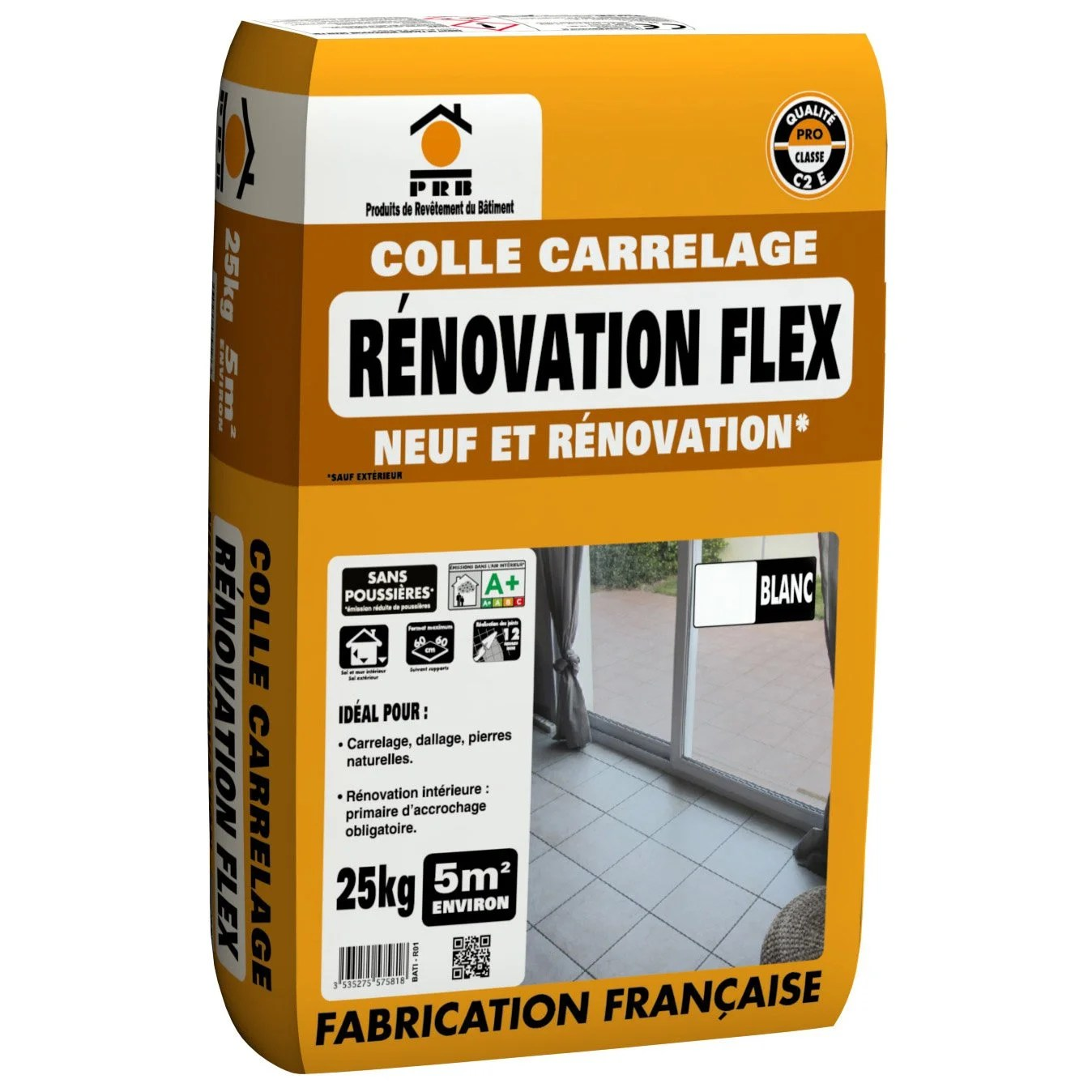 Colle Carrelage Leroy Merlin Mortier Colle Flex Blanc Prb 25 Kg Leroy Merlin