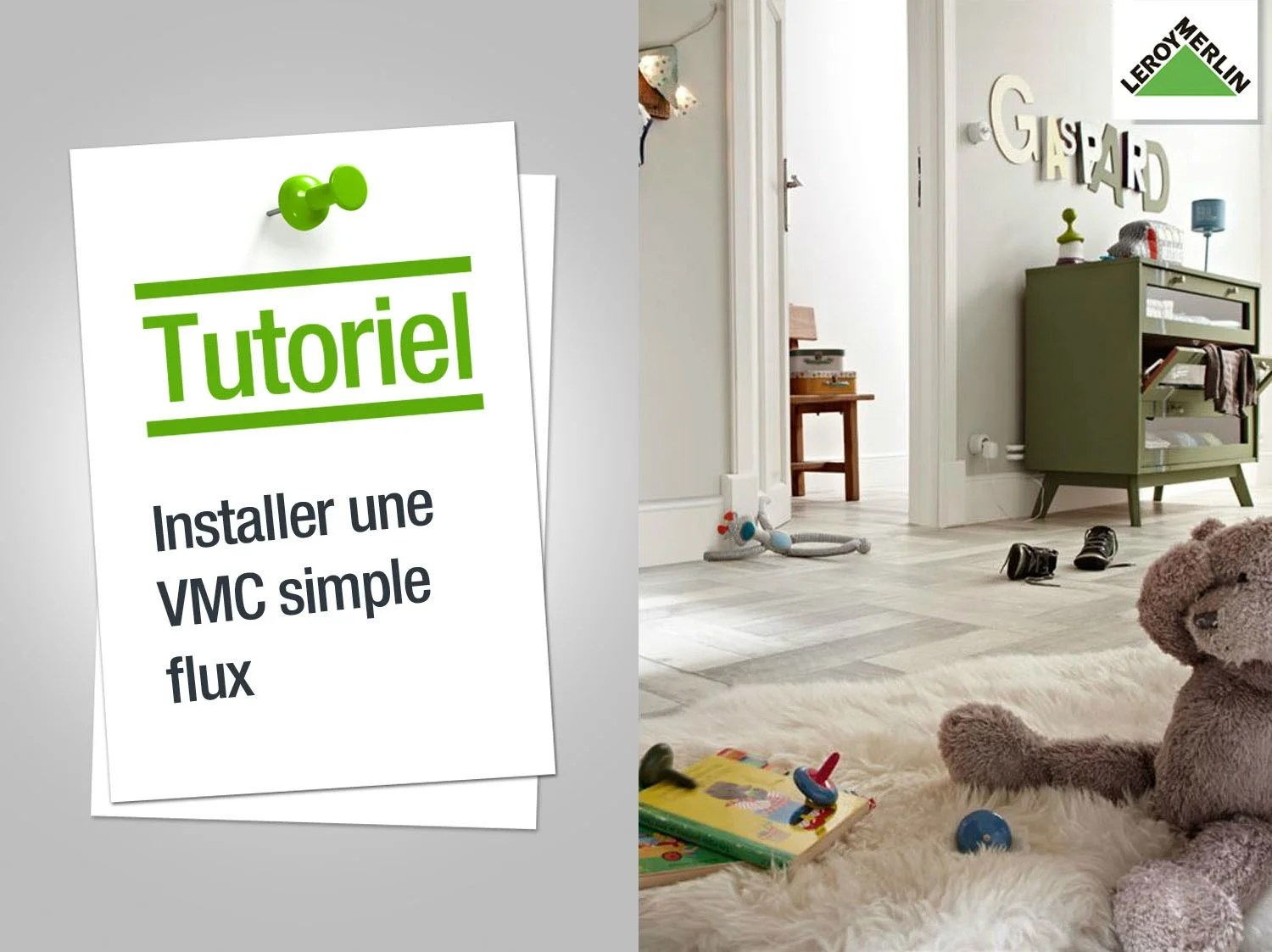 Cheminee Vmc Comment Installer Une Vmc Simple Flux Leroy Merlin