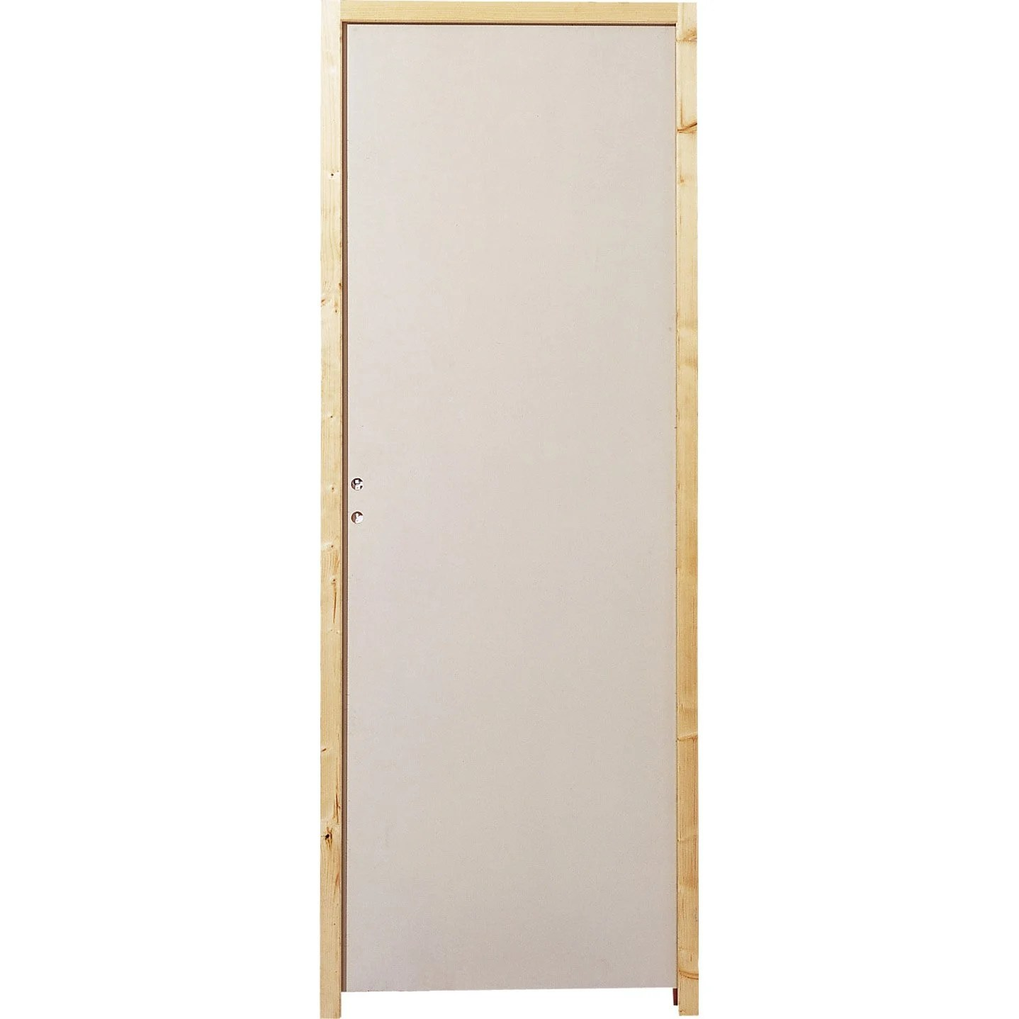 Dressing Point P Bloc Porte Acoustique Isoplane Plénitude H 204 X L 73 Cm
