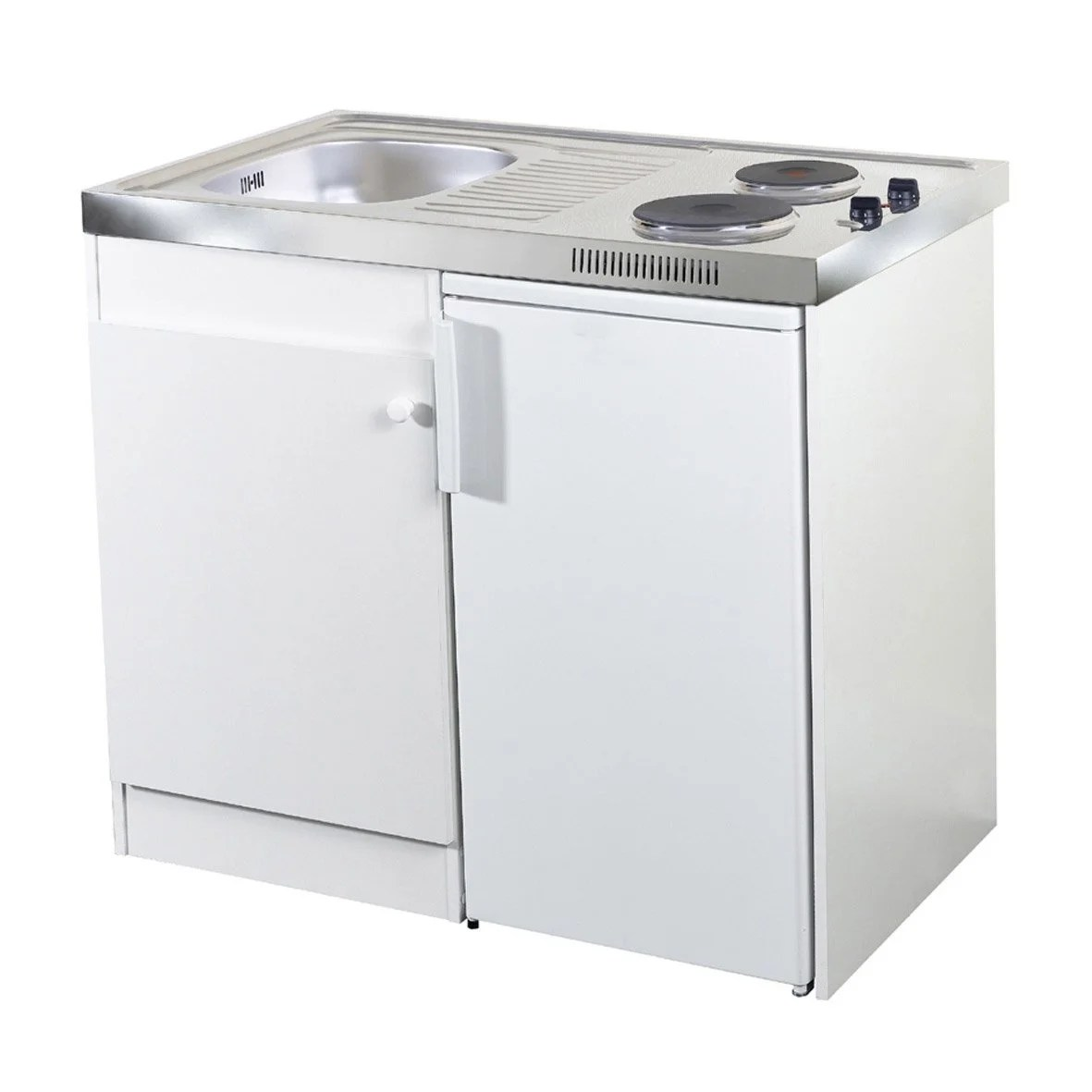Kitchenette Leroy Merlin Kitchenette Spring électrique 100x60 Cm Blanc Leroy Merlin