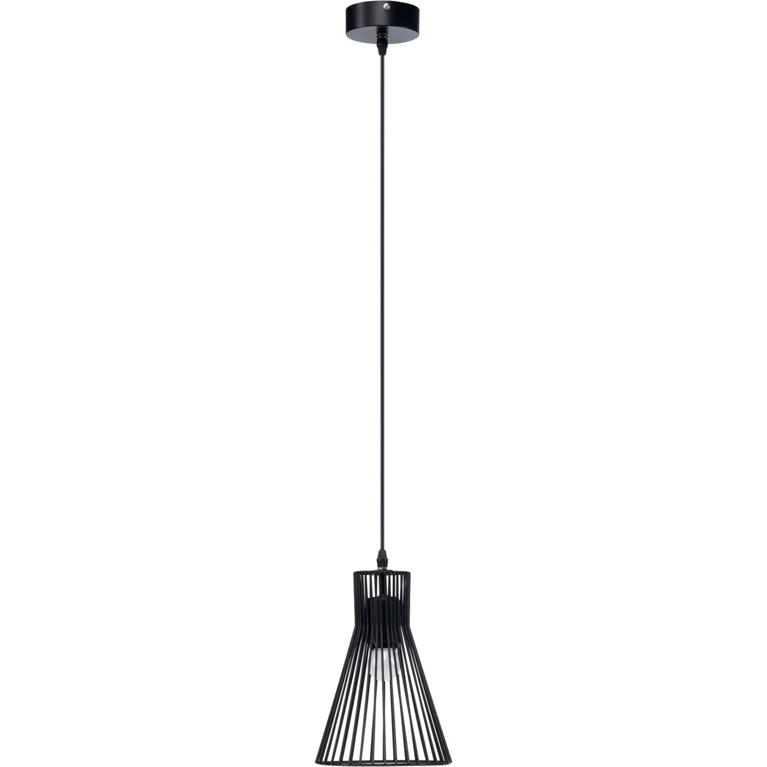 Suspension Metal Design Suspension Design Gael Métal Noir 1 X 60 W Mathias Leroy