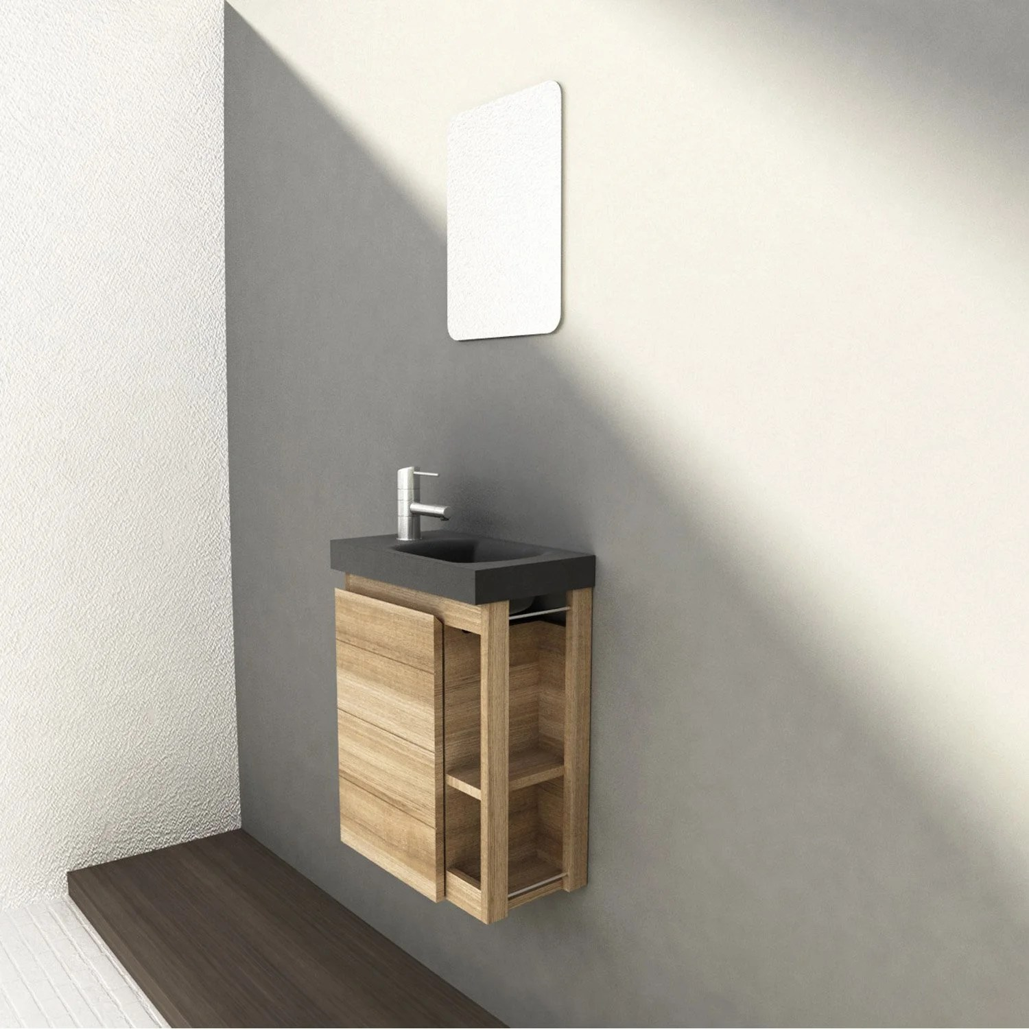 Meuble Angle Wc Leroy Merlin Table De Lit - Meuble Sous Lave Main Angle