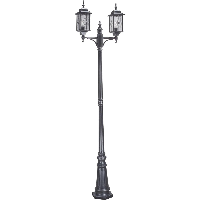 staande buitenlantaarn aluminium buitenlamp led. Black Bedroom Furniture Sets. Home Design Ideas