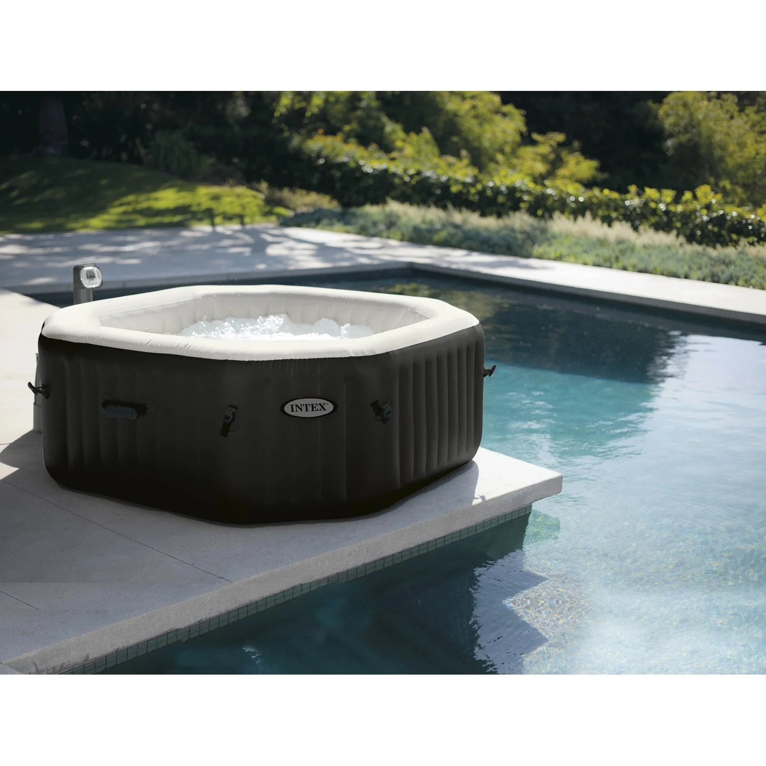 Spa Gonflable Leroy Merlin Spa Gonflable Intex Purespa Bulles Octogonale 6 Places