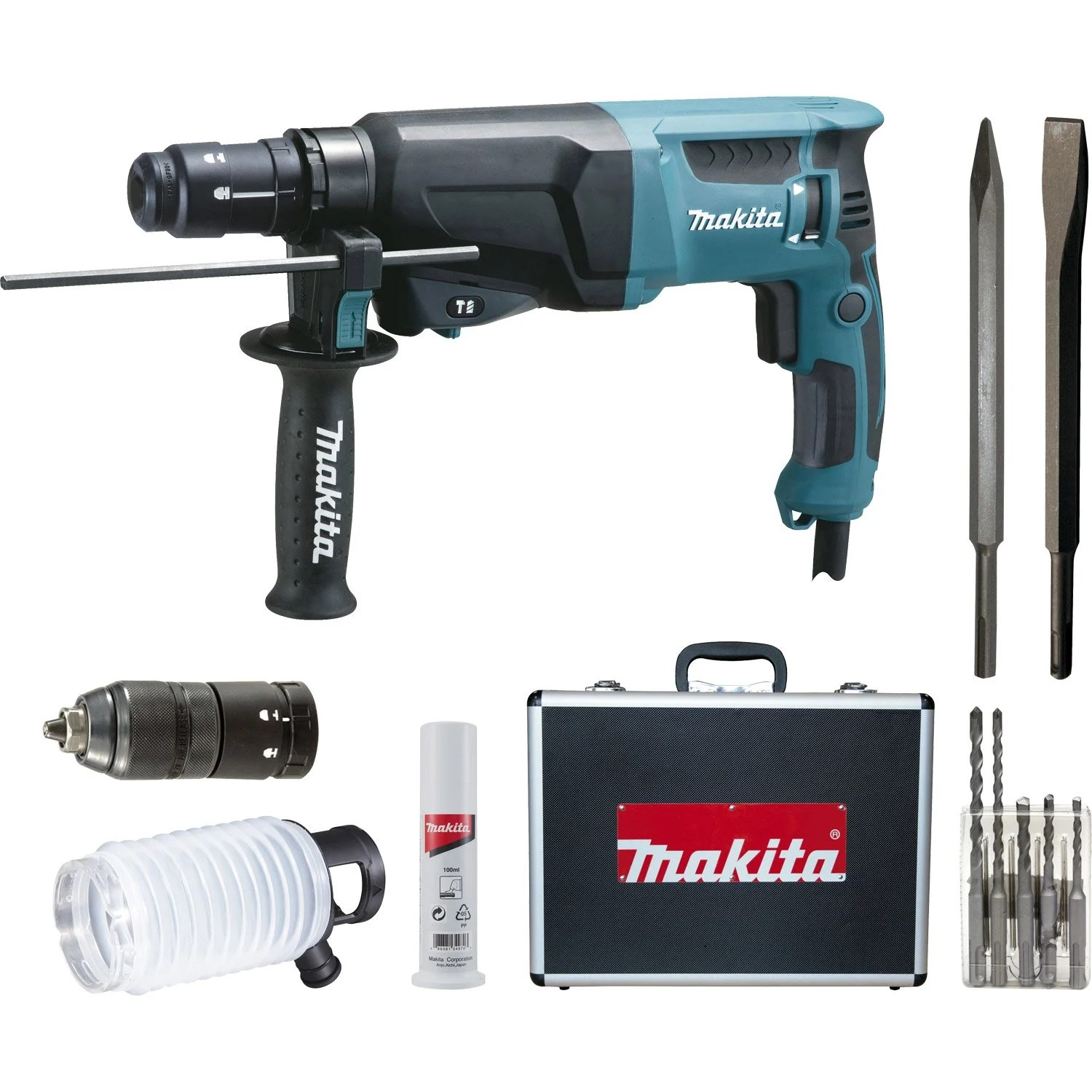 Perceuse Visseuse Leroy Merlin Marteau Perforateur Sds Plus Makita Hr2310tsp1 720 W