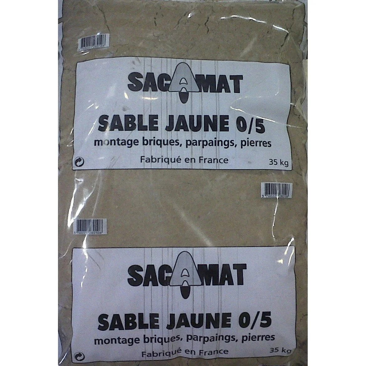 Sable Leroy Merlin Sac Sac De Sable Jaune 0/5, 35 Kg | Leroy Merlin