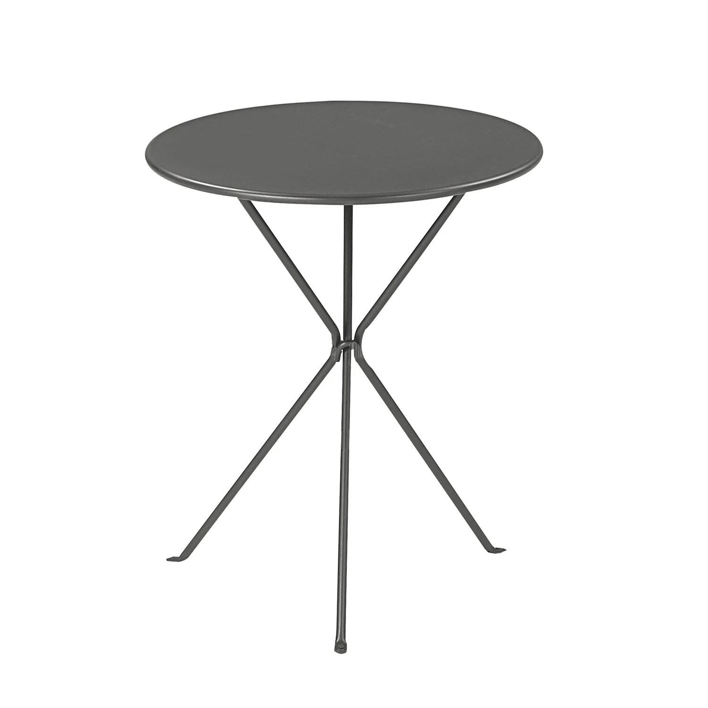 Table Terrasse Noir | Du Mobilier De Jardin Haut En Couleurs Leroy ...