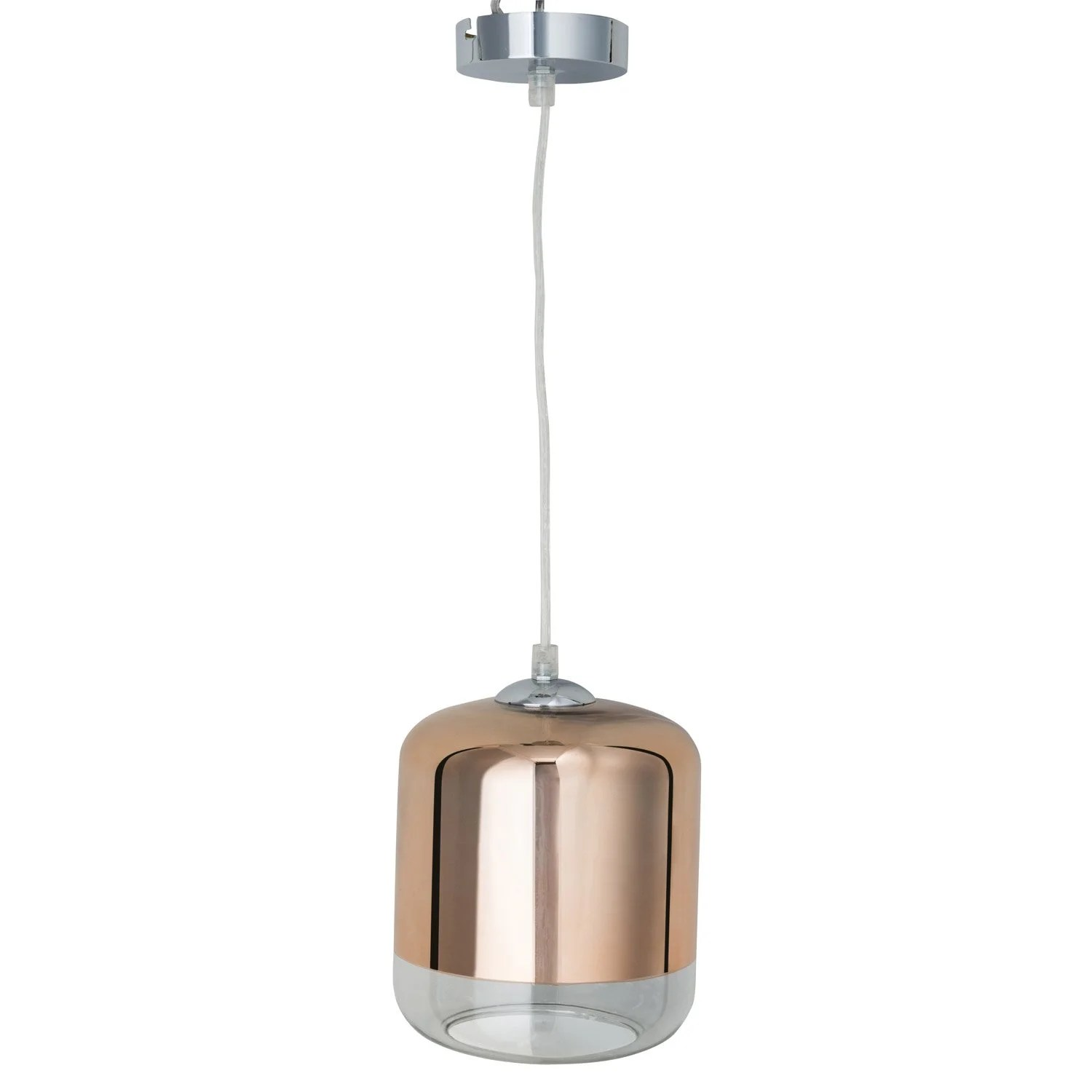 Suspension Design En Verre Suspension Design Myrta Verre Cuivre 1 X 60 W Inspire