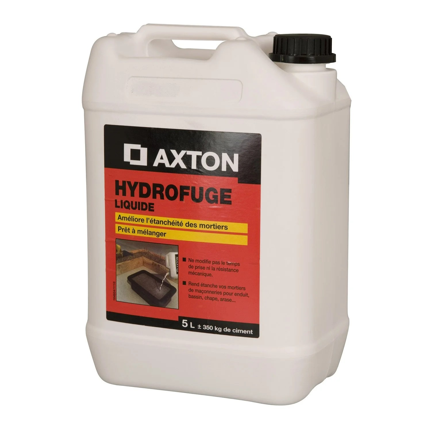 Axton Impermeabilisant Carrelage Hydrofuge Pour Mortier Axton 5 L Blanc Leroy Merlin
