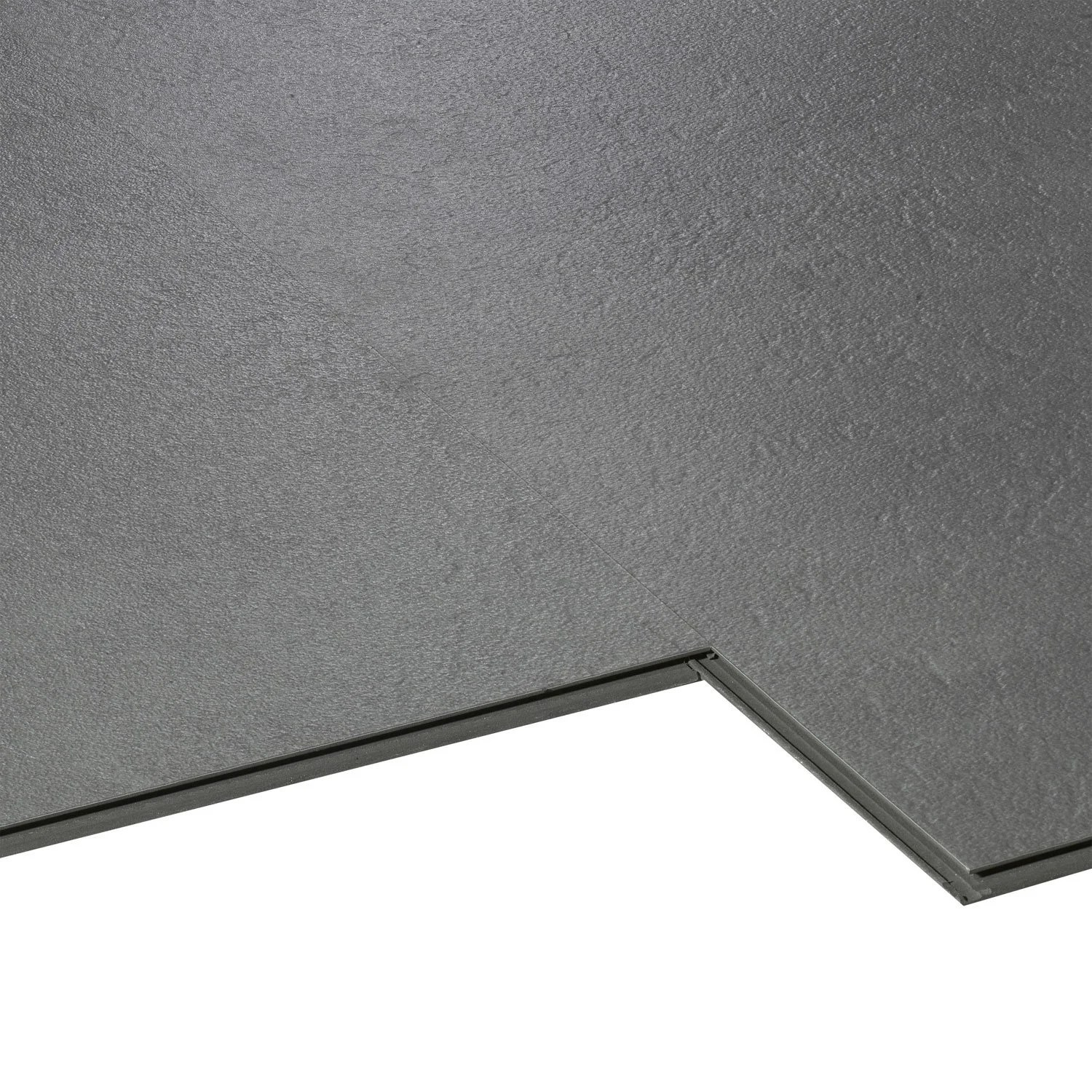 Garantie Pose Carrelage Exterieur Dalle Pvc Clipsable Gris Styling Aero City Leroy Merlin