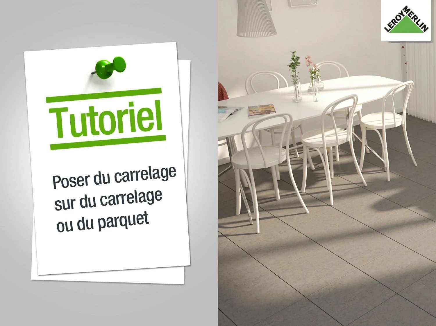 Pose Carrelage Exterieur Video Comment Poser Du Carrelage Sur Du Carrelage Ou Du Parquet