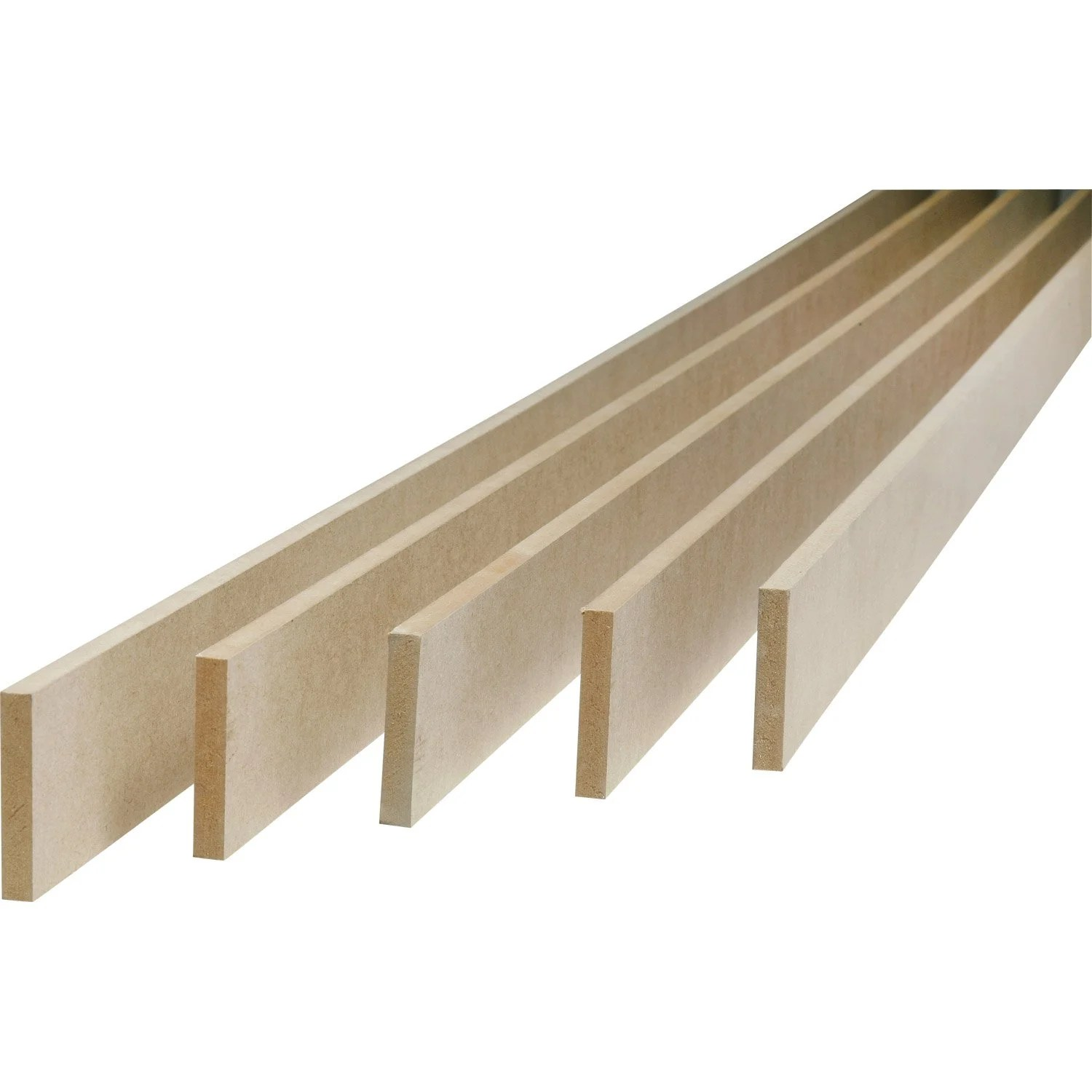 Plinthe En Bois Leroy Merlin Lot De 5 Plinthes Médium Mdf Réversibles 9 X 100 Mm L