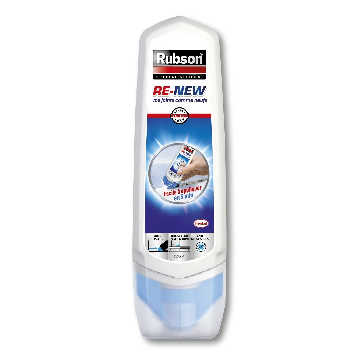 Joint Silicone Exterieur Silicone Rubson 100 Ml Leroy Merlin