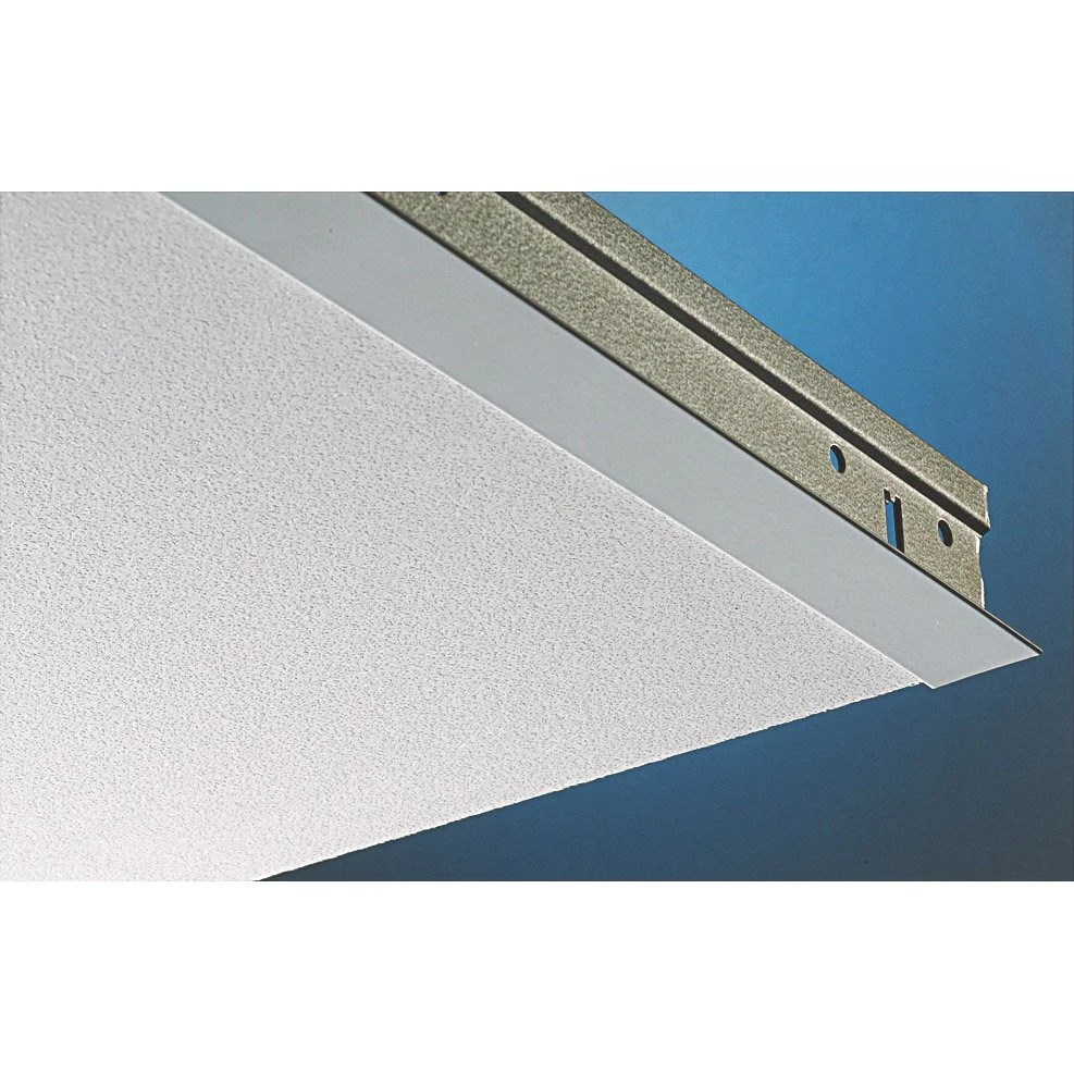 Profil De Finition Lambris Pvc Plaque Plaza Pixel Blanc 60x60 Cm | Leroy Merlin