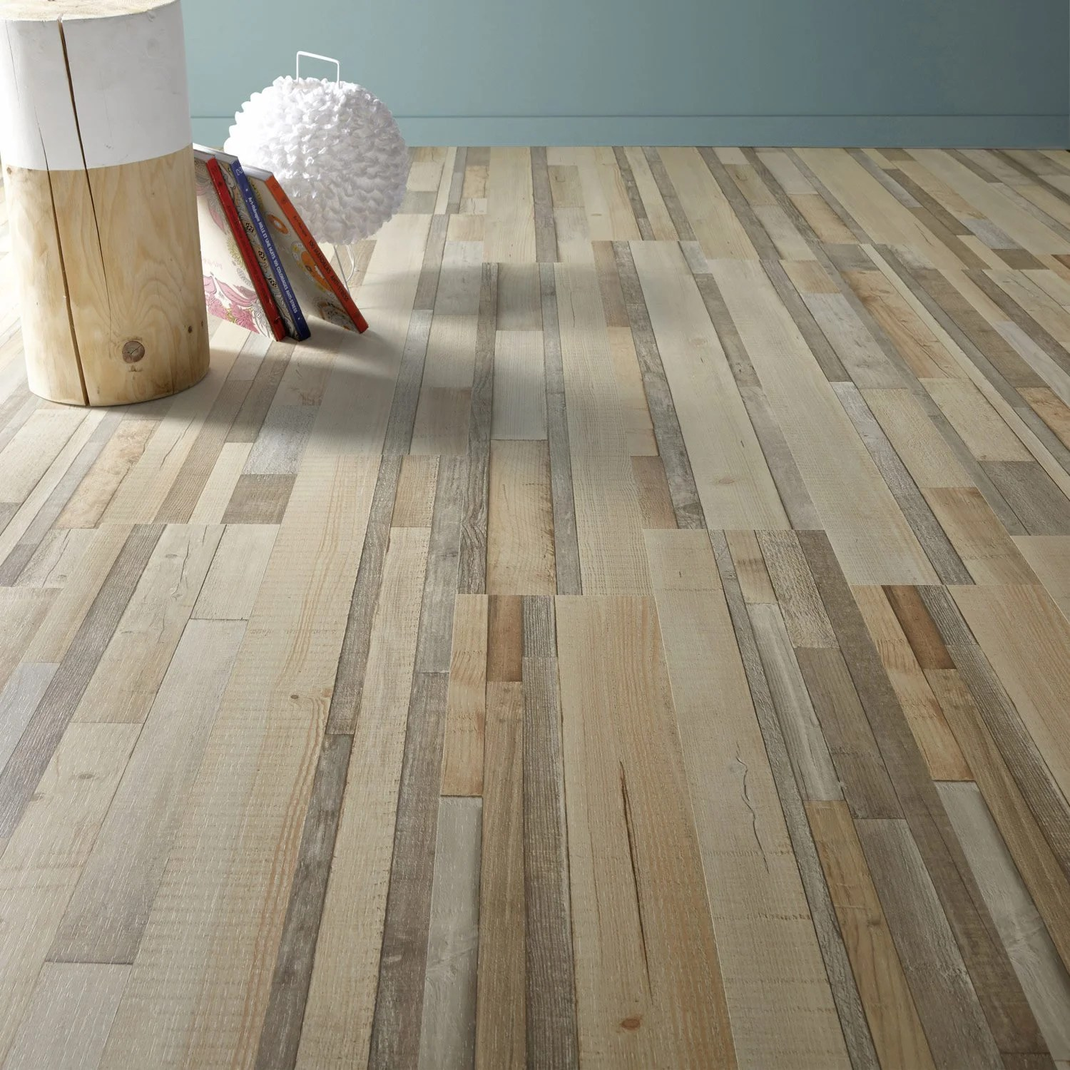 Parquet Flottant Grand Passage Sol Stratifié Artens Plus ép 12 Mm Burano Leroy Merlin