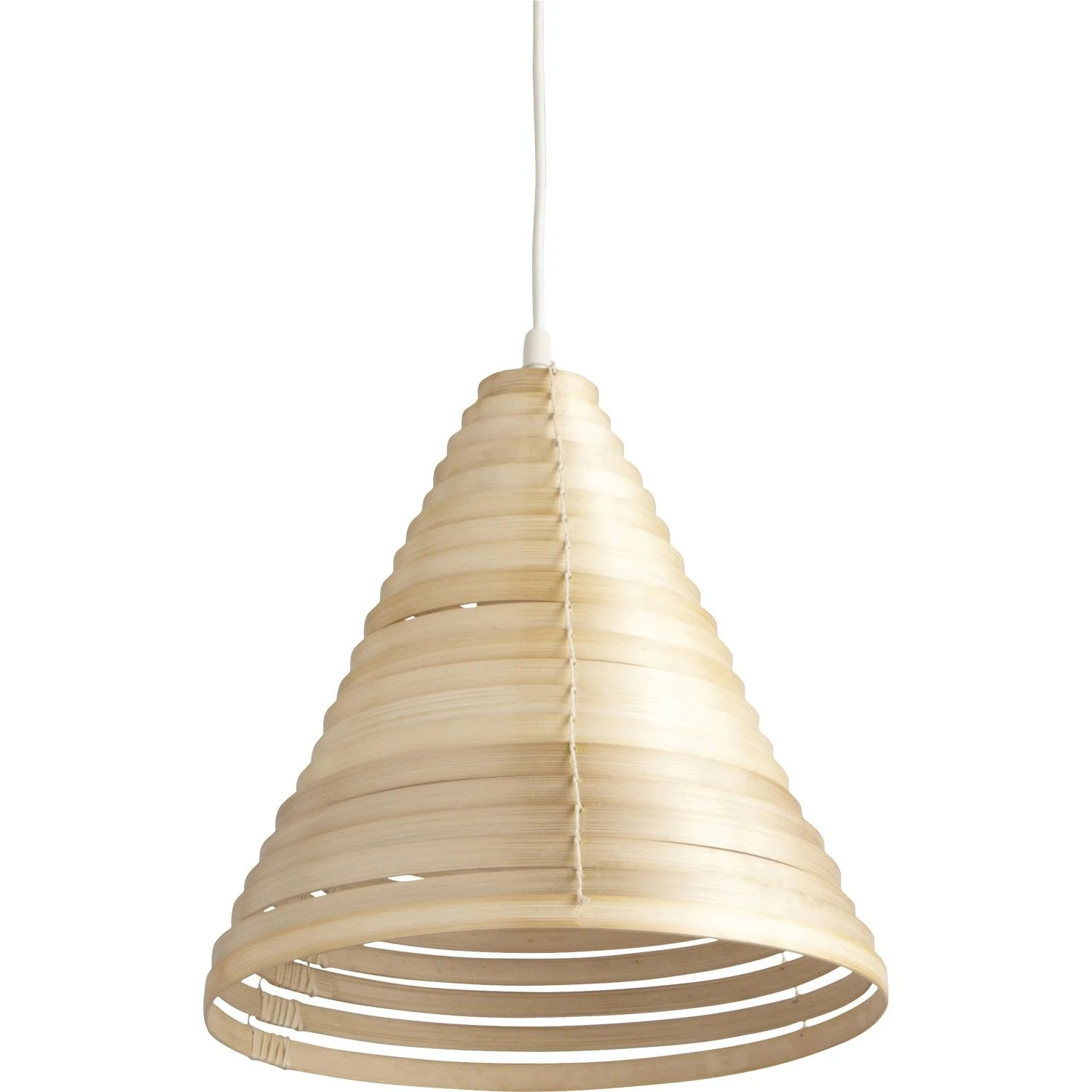 Suspension Bambou Leroy Merlin Suspension Nature Shosan Bambou Naturel 1 X 60 W Inspire