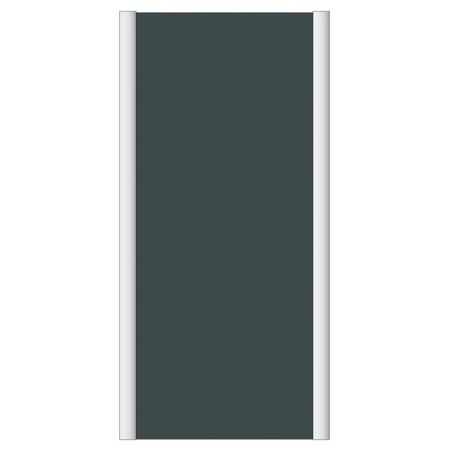 Porte Placard Leroy Merlin Spaceo Porte De Placard Coulissante Gris Graphite Spaceo L 67 X H