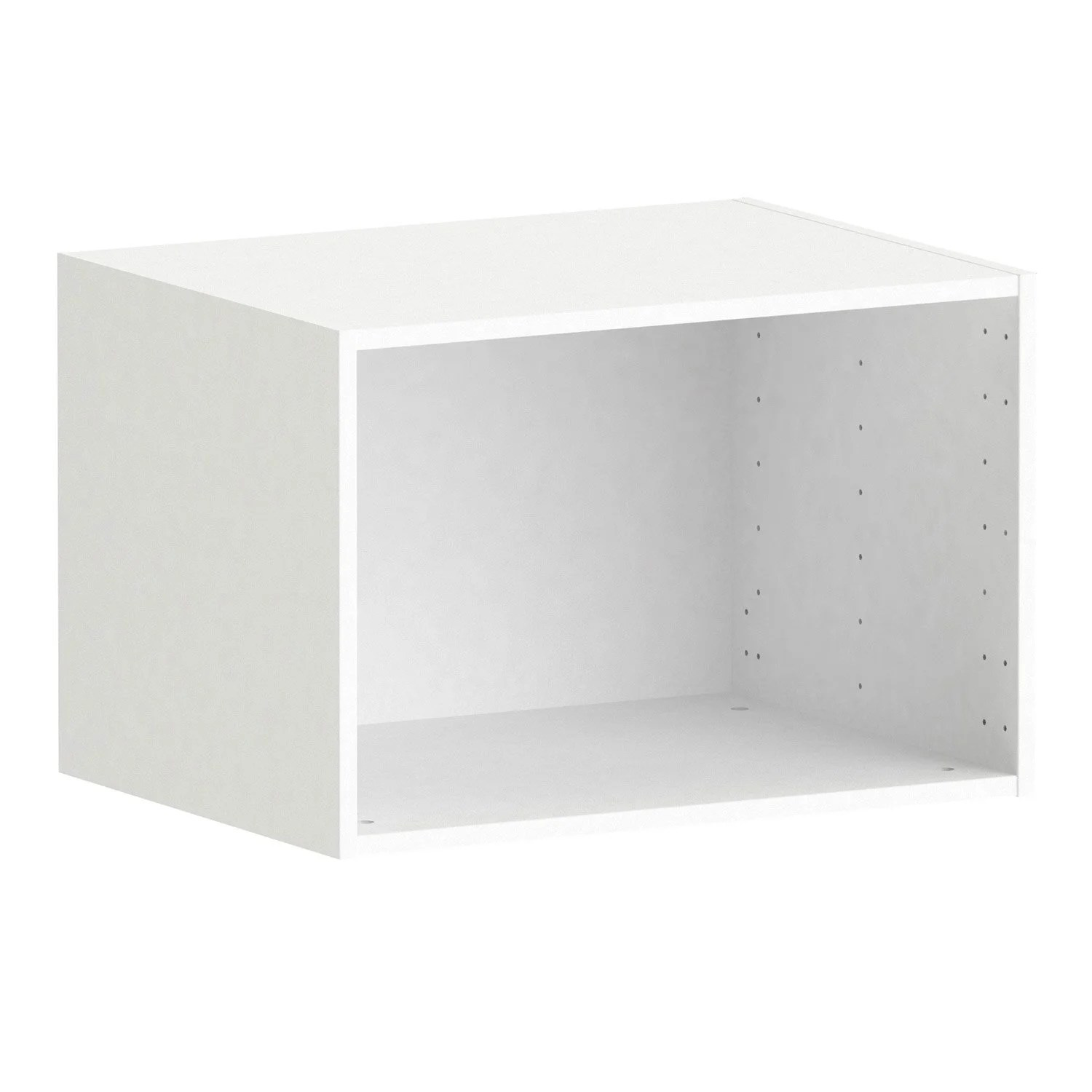 Meuble 50x50 Caisson Spaceo Home 40 X 60 X 45 Cm Blanc Leroy Merlin