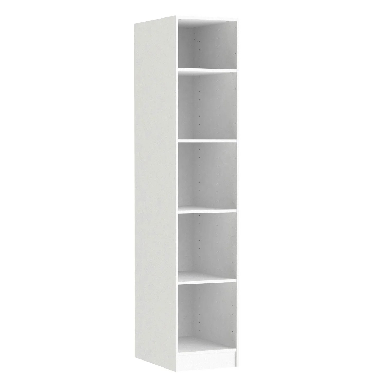 Caisson Spaceo Home Leroy Merlin Caisson Spaceo Home 200 X 40 X 60 Cm, Blanc | Leroy Merlin