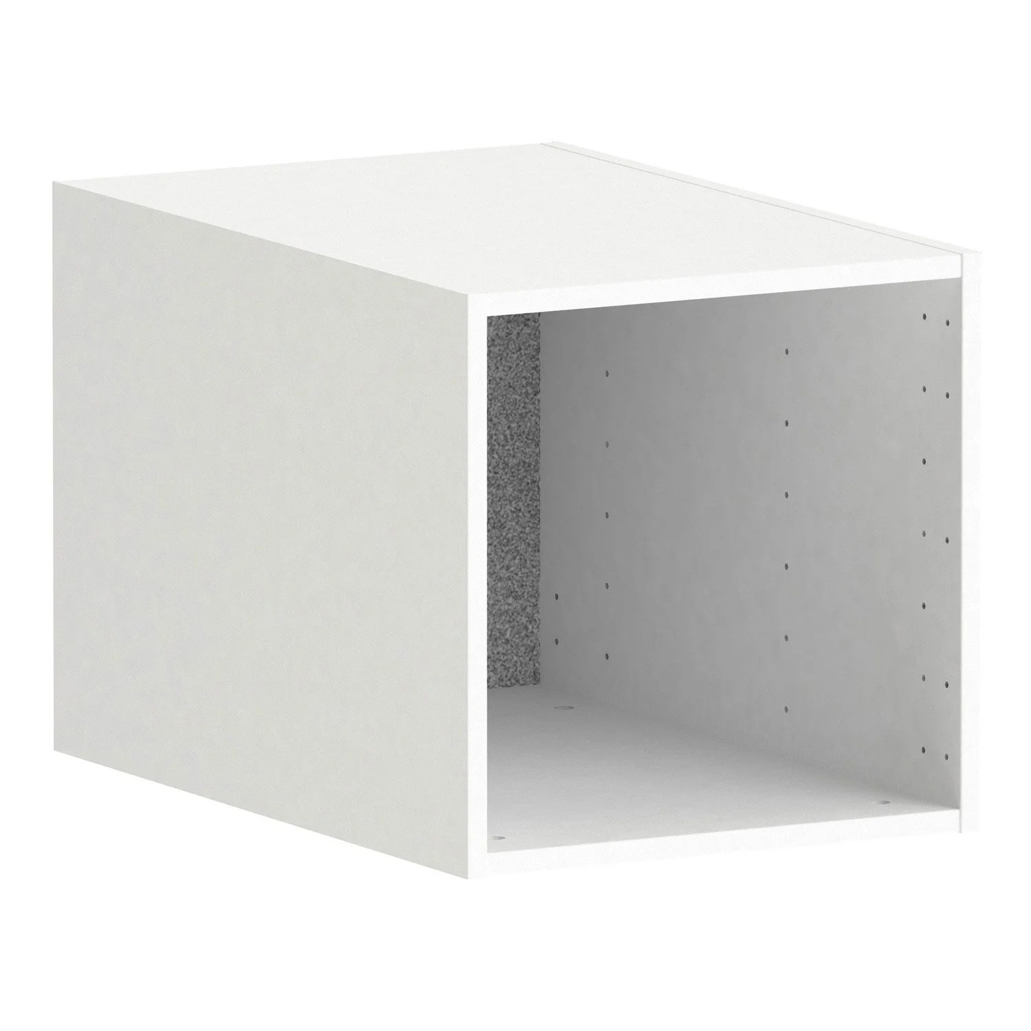 Caisson Spaceo Home Leroy Merlin Caisson Spaceo Home 40 X 40 X 60 Cm Blanc Leroy Merlin