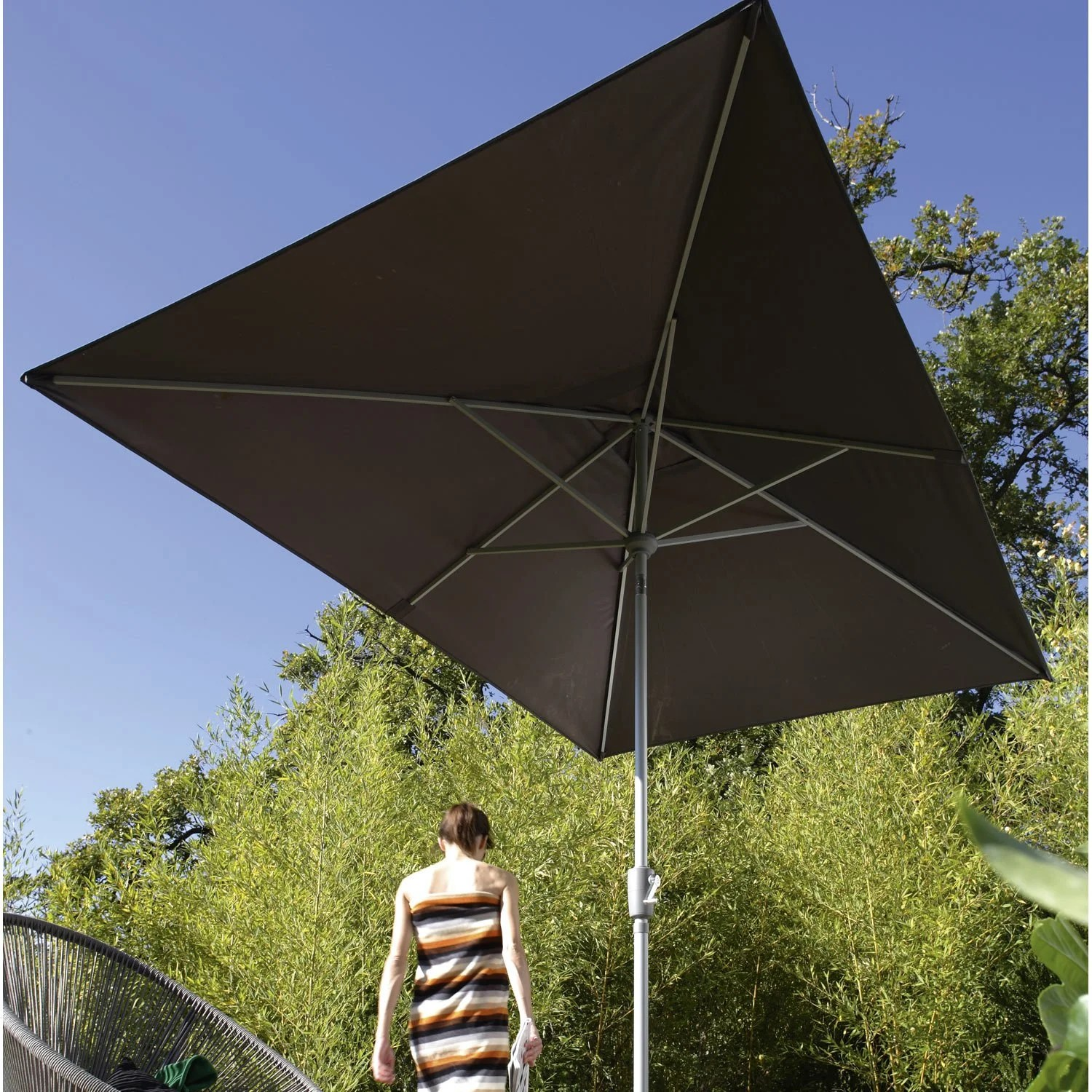 Parasols Leroy Merlin Parasol Rectangulaire Inclinable Leroy Merlin