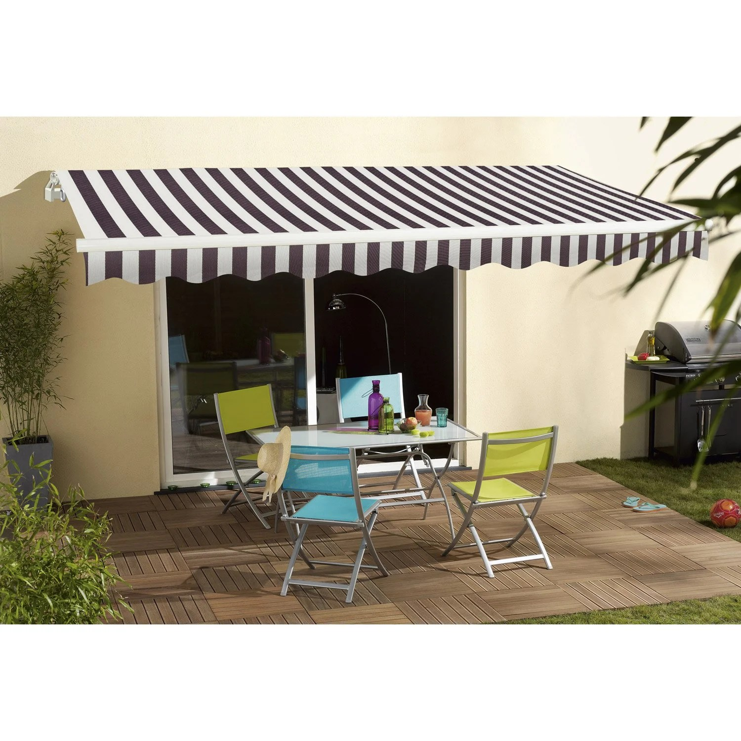 Store Banne Coffre Allure Store Banne Electrique Store Terrasse Leroy Merlin Store Store
