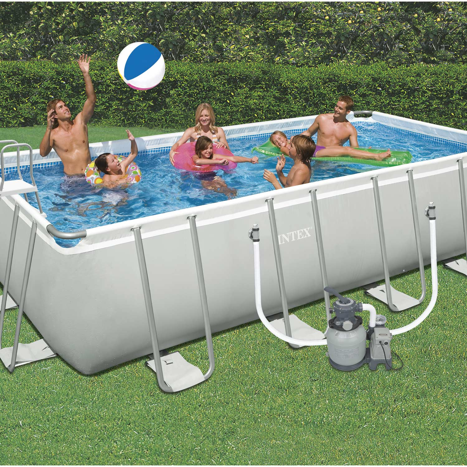 Leroy Merlin Piscine Hors Sol Intex Piscine Hors Sol Autoportante Tubulaire Intex L 6 05 X L