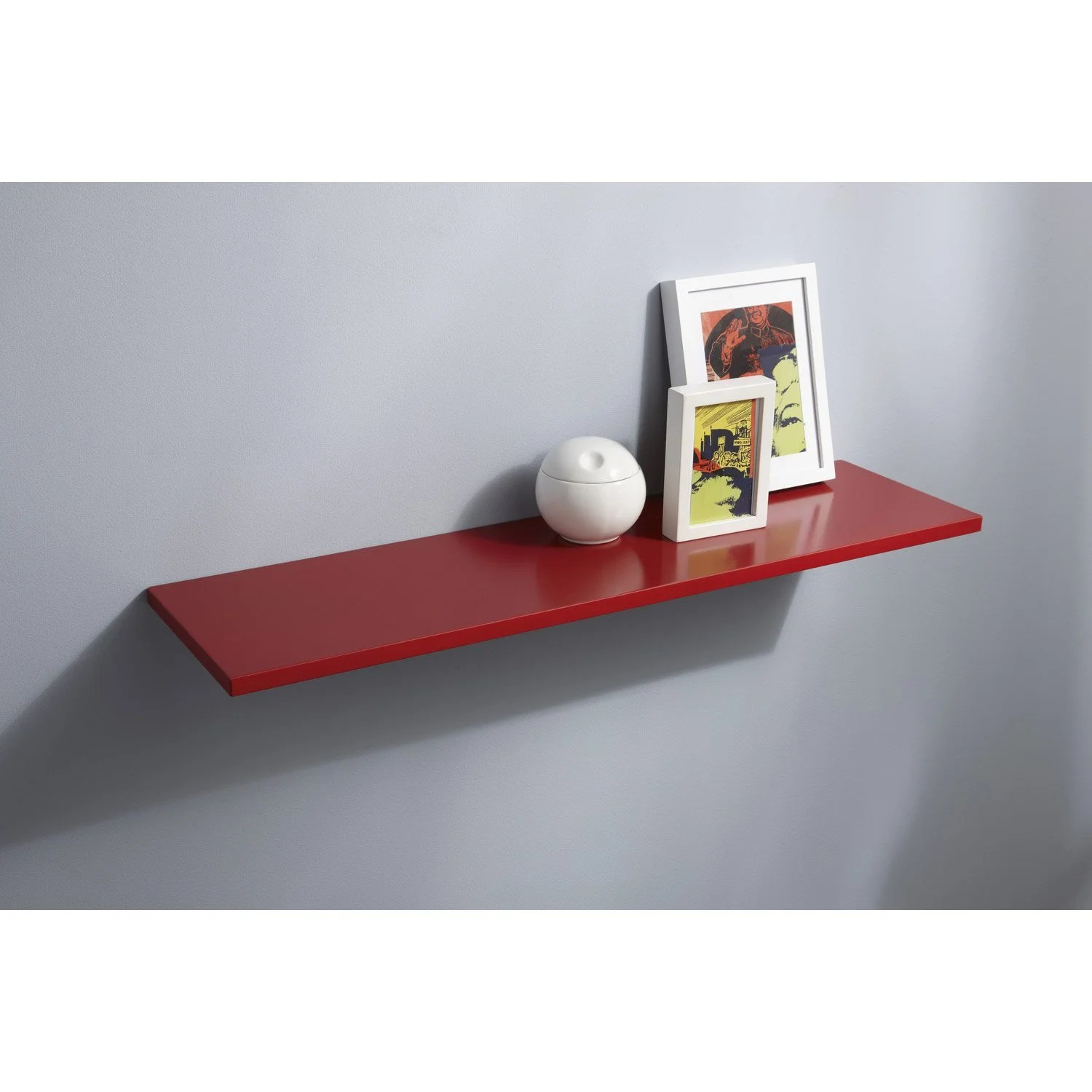 Tablette Murale Arrondie Tablette Murale Rouge Maison Design Wiblia