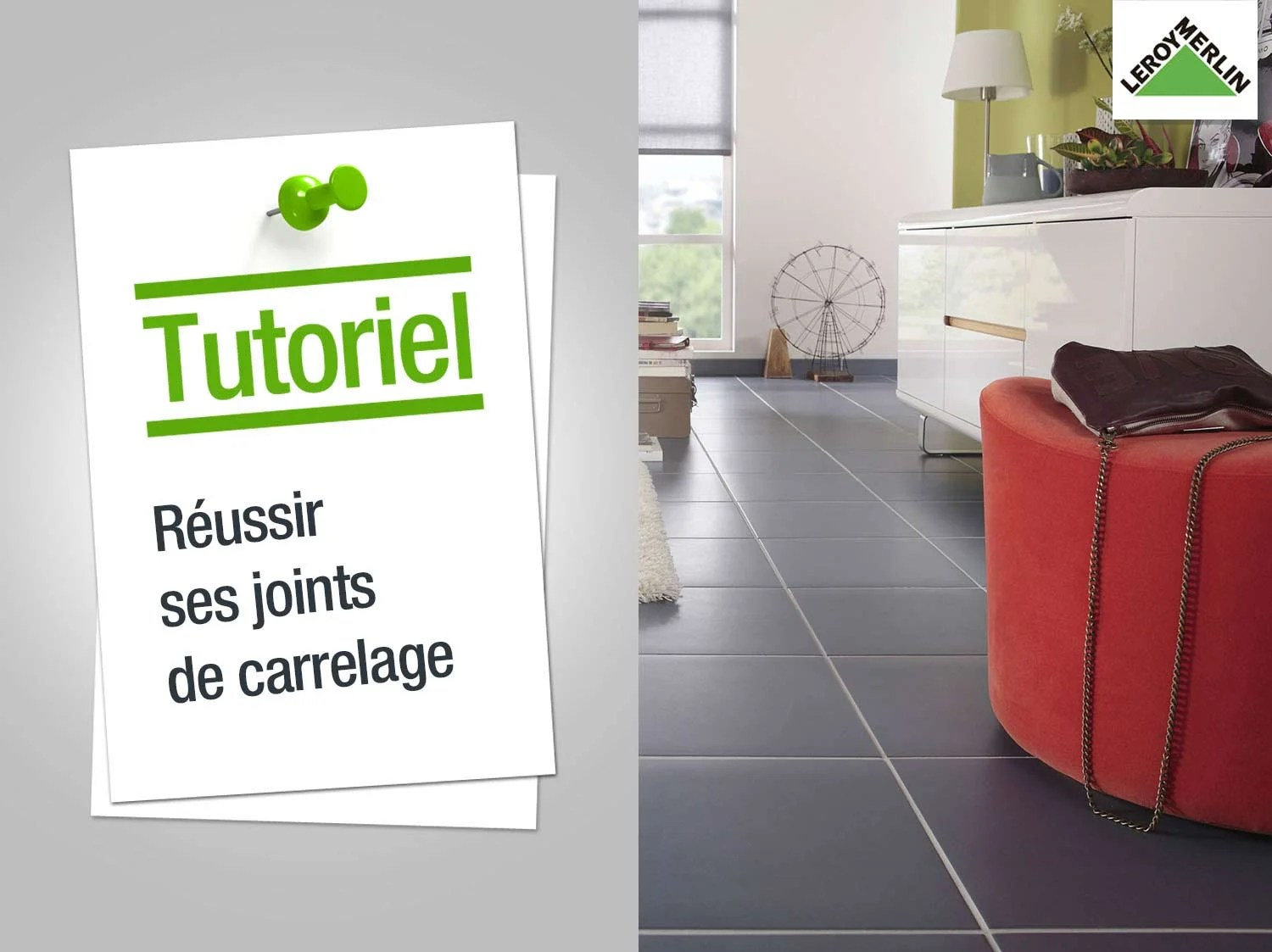Pose Carrelage Exterieur Barbotine Comment Faire Des Joints De Carrelage Leroy Merlin