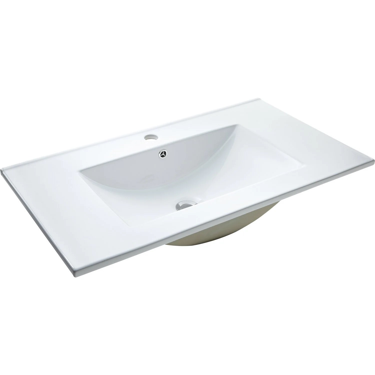 Vasque à Encastrer Leroy Merlin Plan Vasque Simple Promo 81 Cm Leroy Merlin