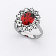 bague-entourage-marguerite-or-blanc-diamants-rubis-0